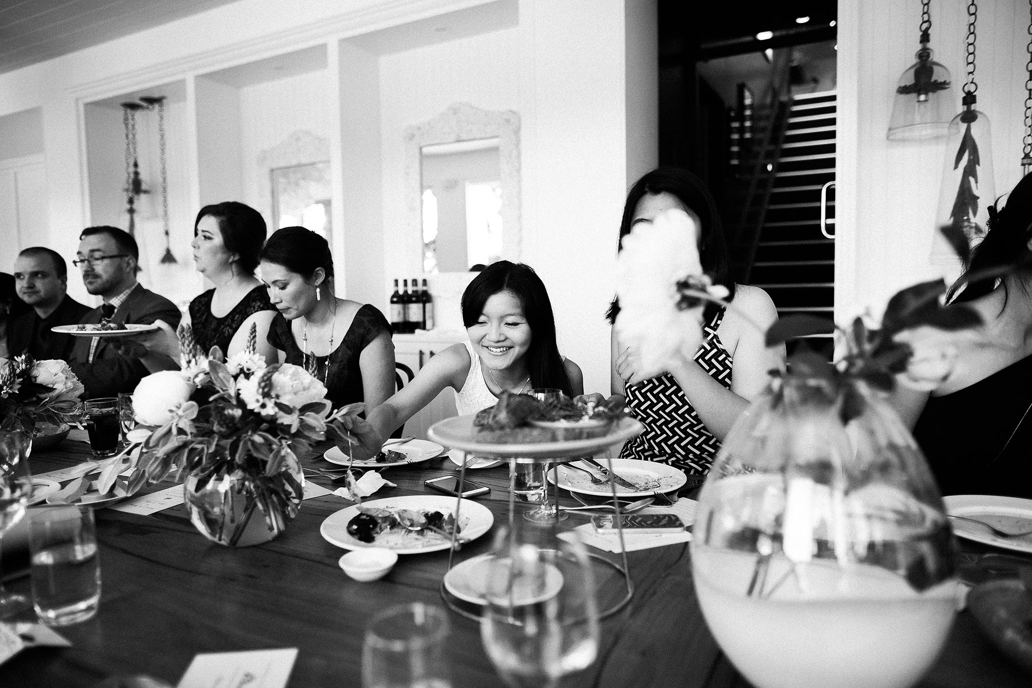 Daylesford-Lake-House-Wedding-Photography-guests-food