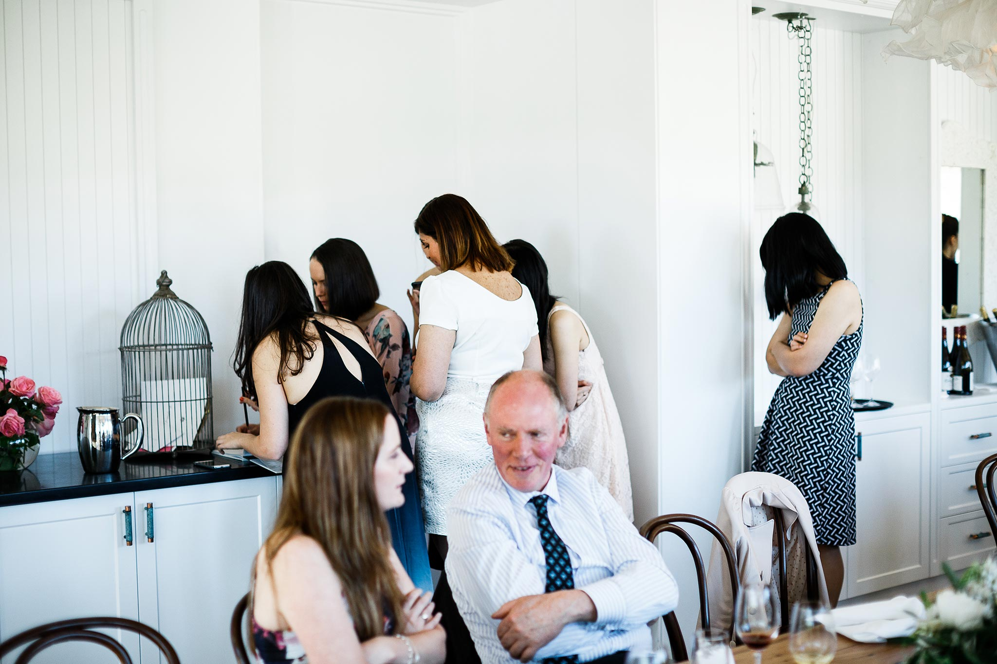 Daylesford-Lake-House-Wedding-Photographer-lunch-reception