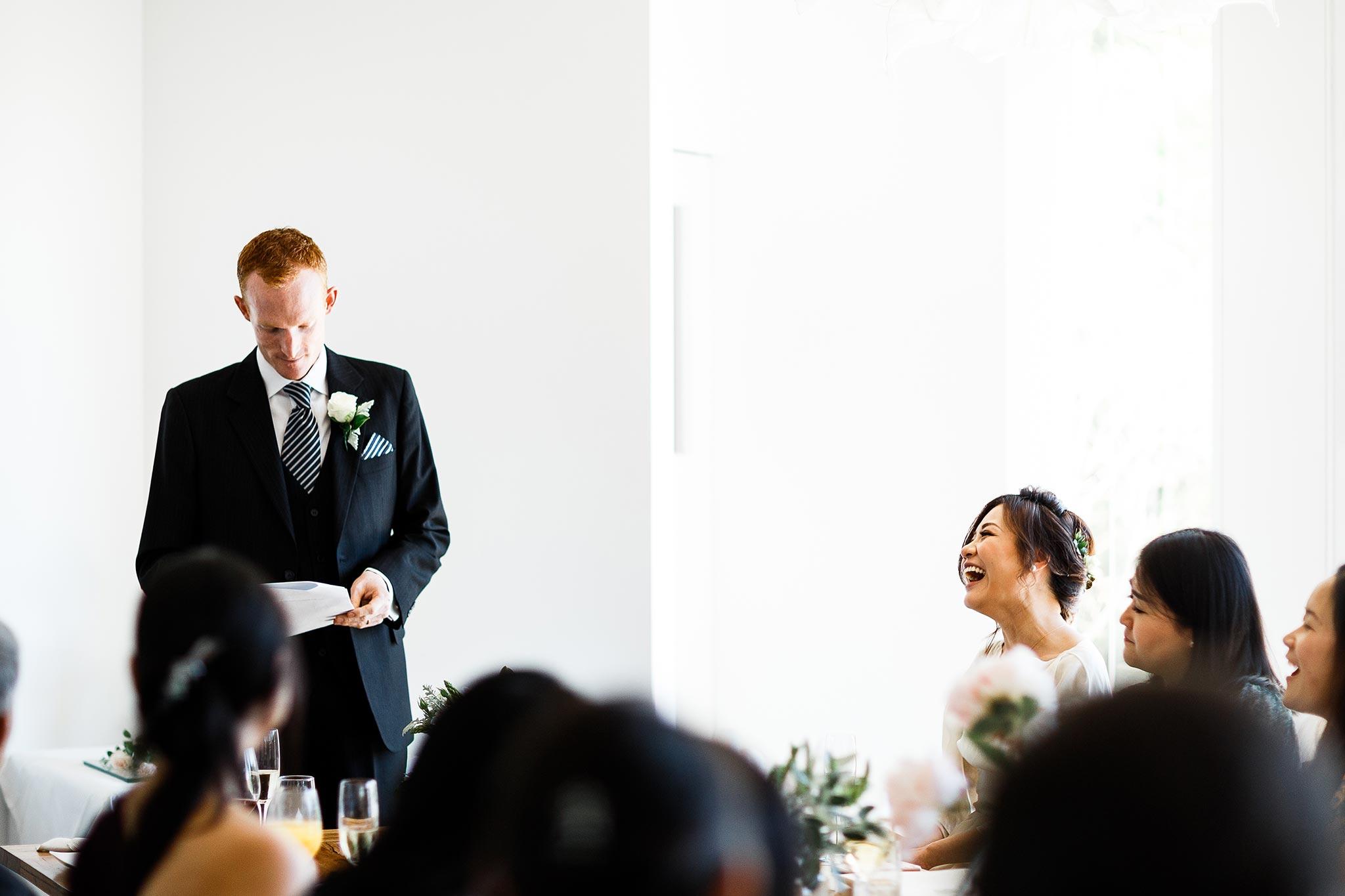 Daylesford-Lake-House-Wedding-Photographer-lunch-reception-speech
