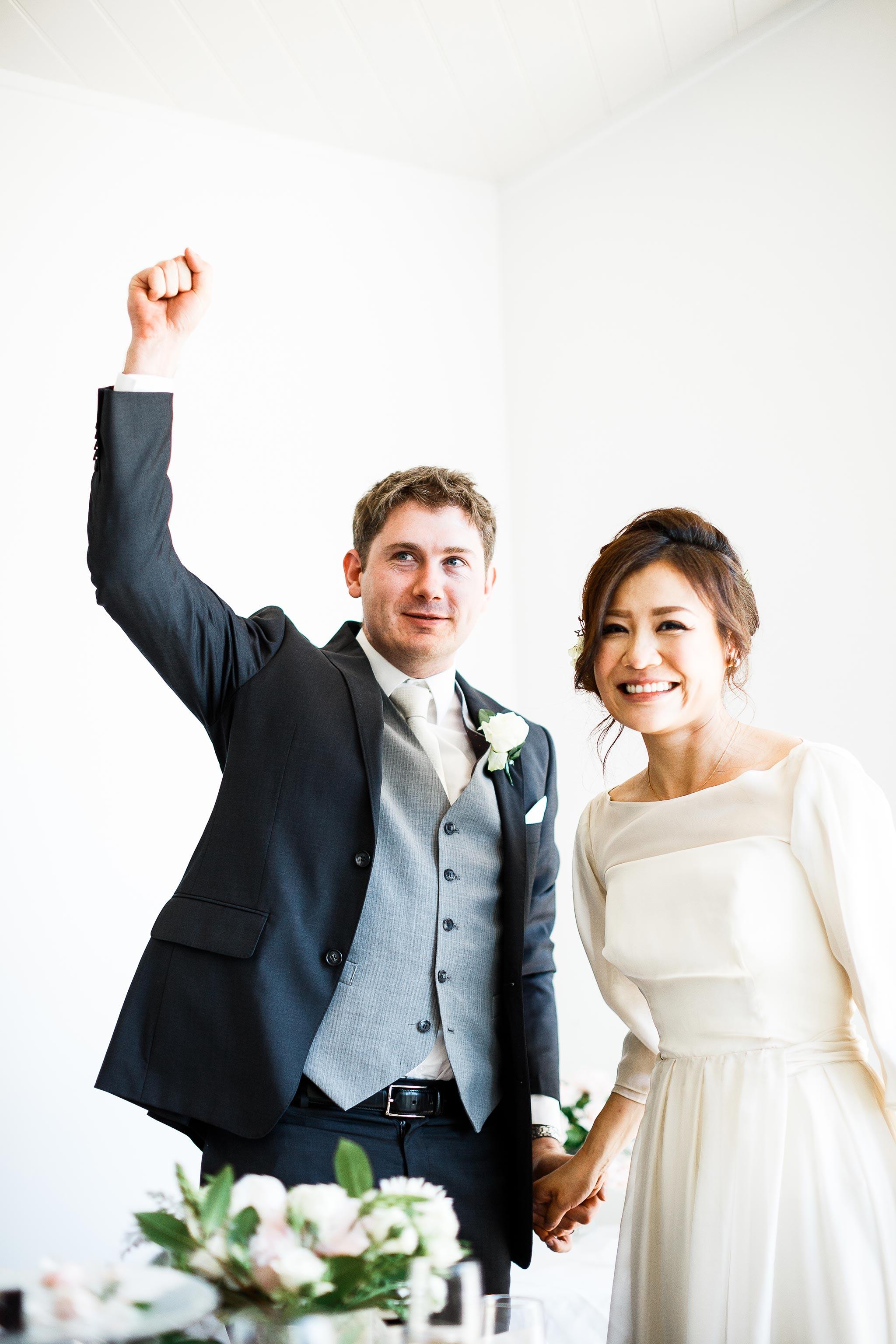 Daylesford-Lake-House-Wedding-Photographer-lunch-reception-bride-groom