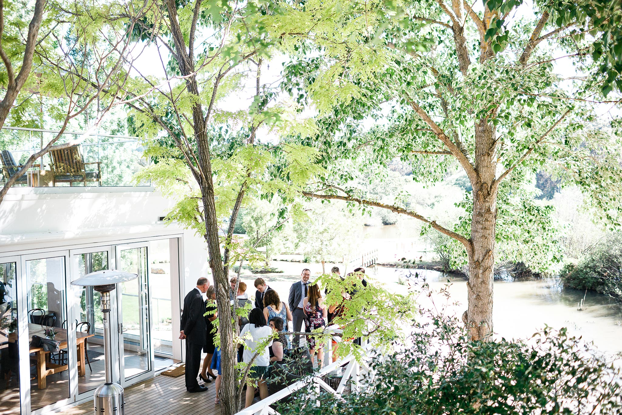 Daylesford-Lake-House-Wedding-Photographer-lunch-reception-ending