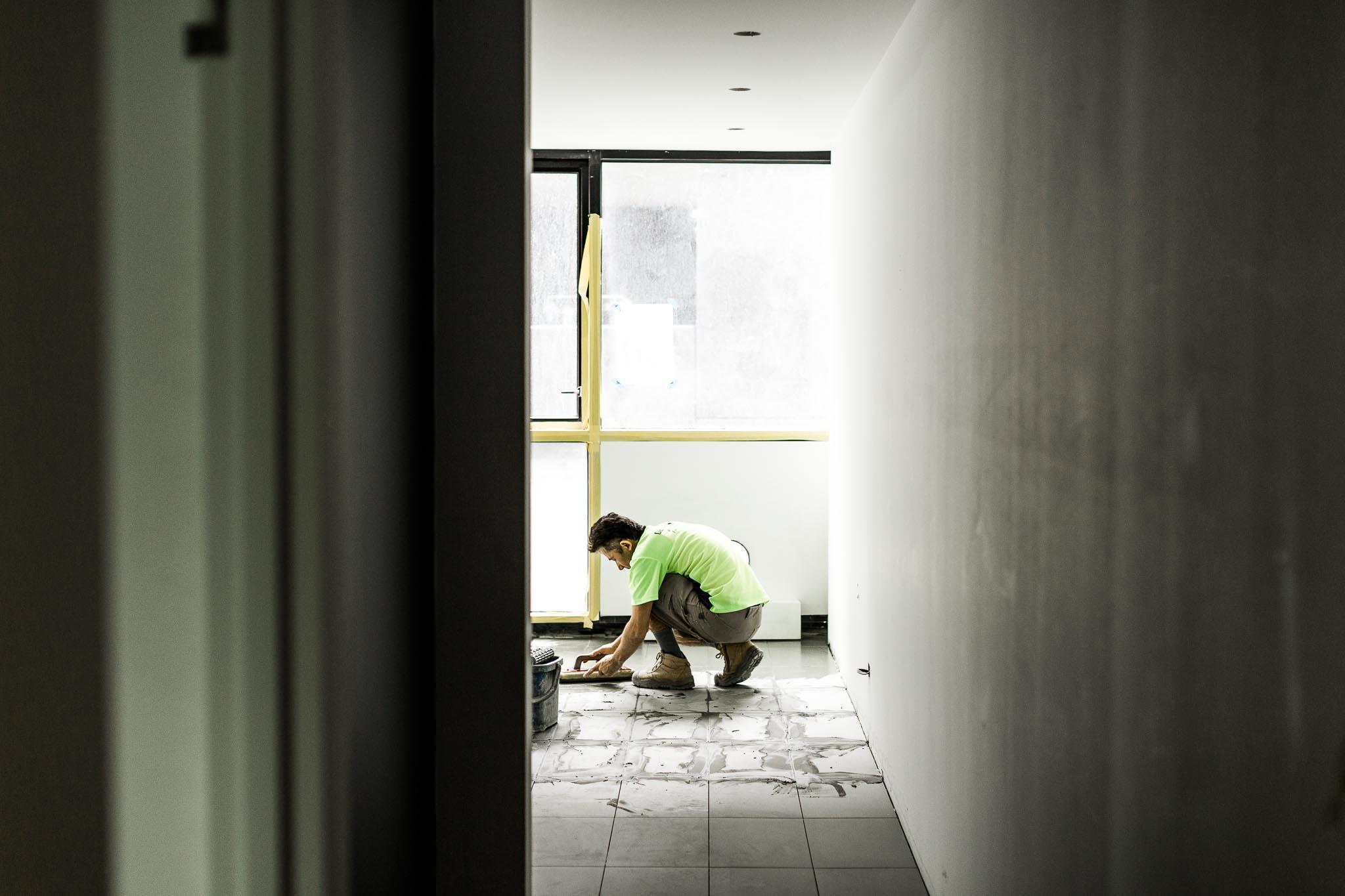 Architecture-photographer-560-Flinders-Under-Construction