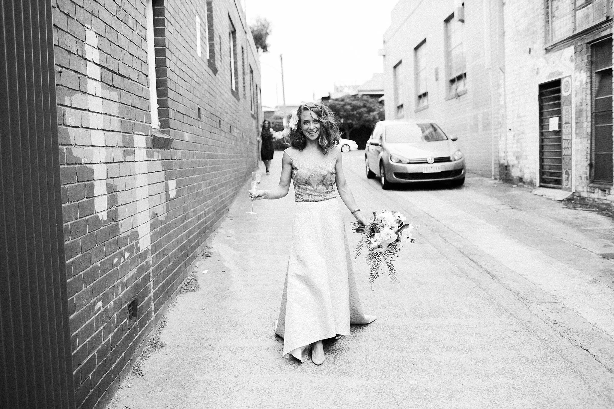 North-Melbourne-Wedding-Photographer-alley-bride