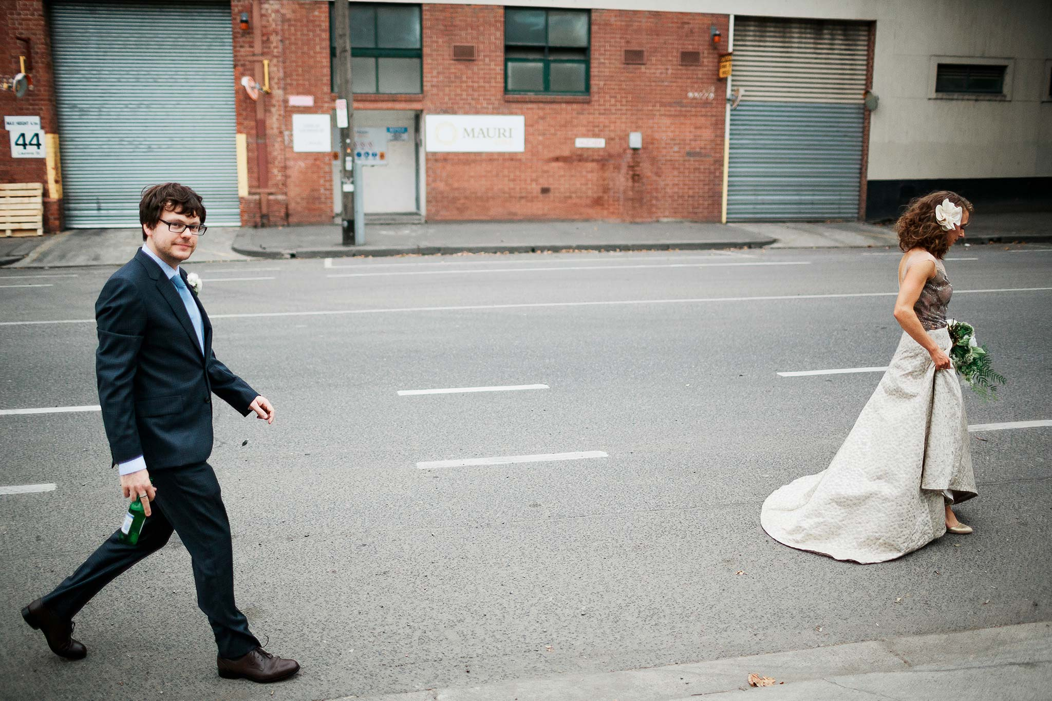 North-Melbourne-Wedding-Photographer-bride-groom-walking