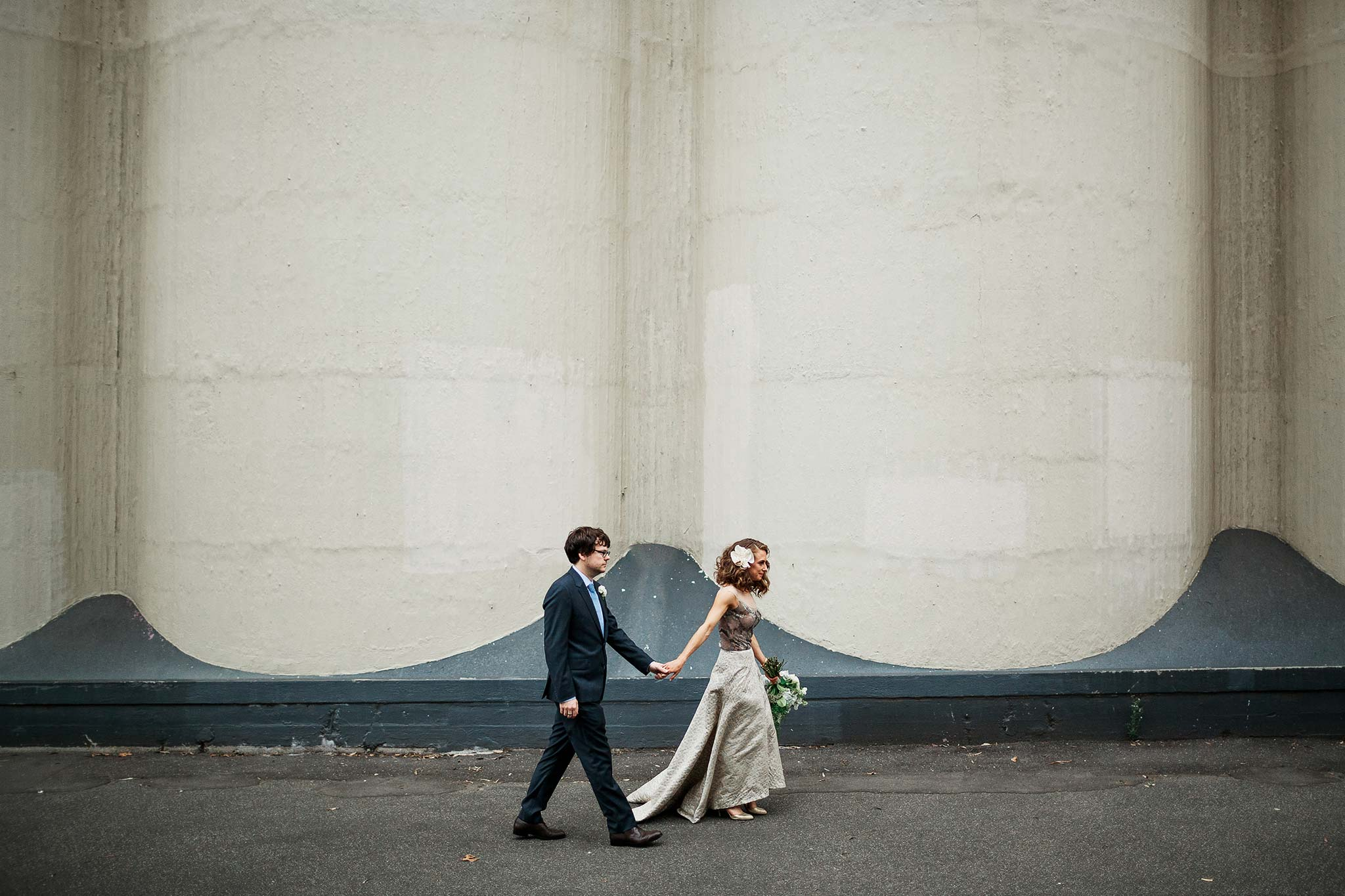 North-Melbourne-Wedding-Photographer-bride-groom-industrial