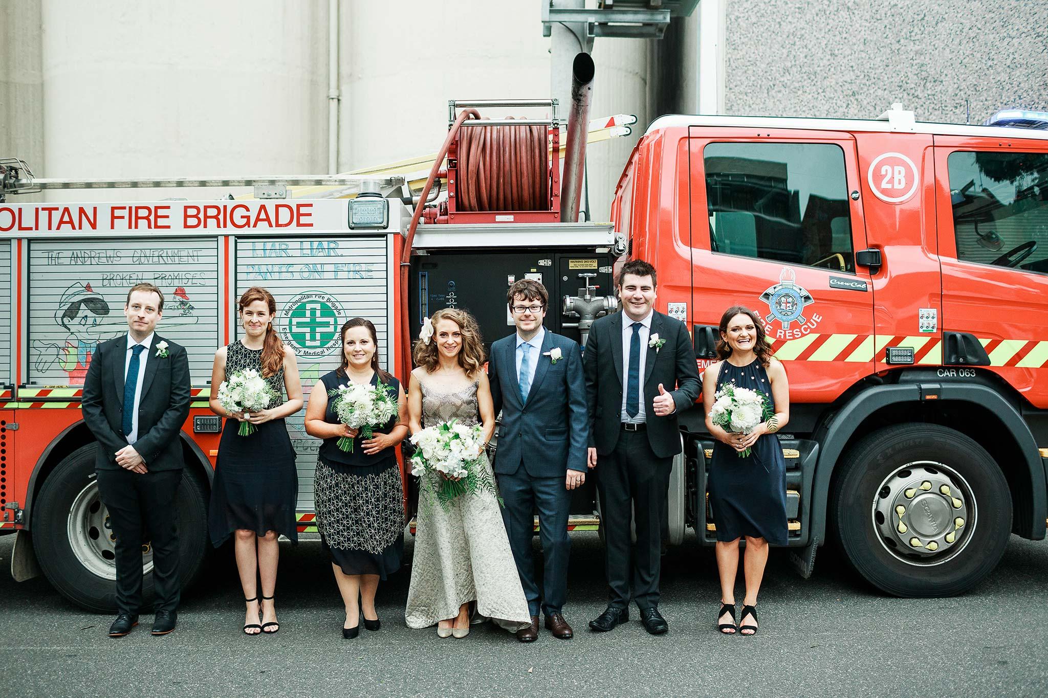 North-Melbourne-Wedding-Photographer-fire-truck-portrait