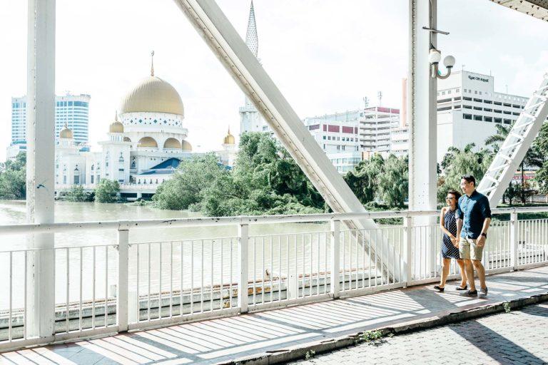 Klang-Engagement-Pre-Wedding-Photographer-Klang-River-Bridge