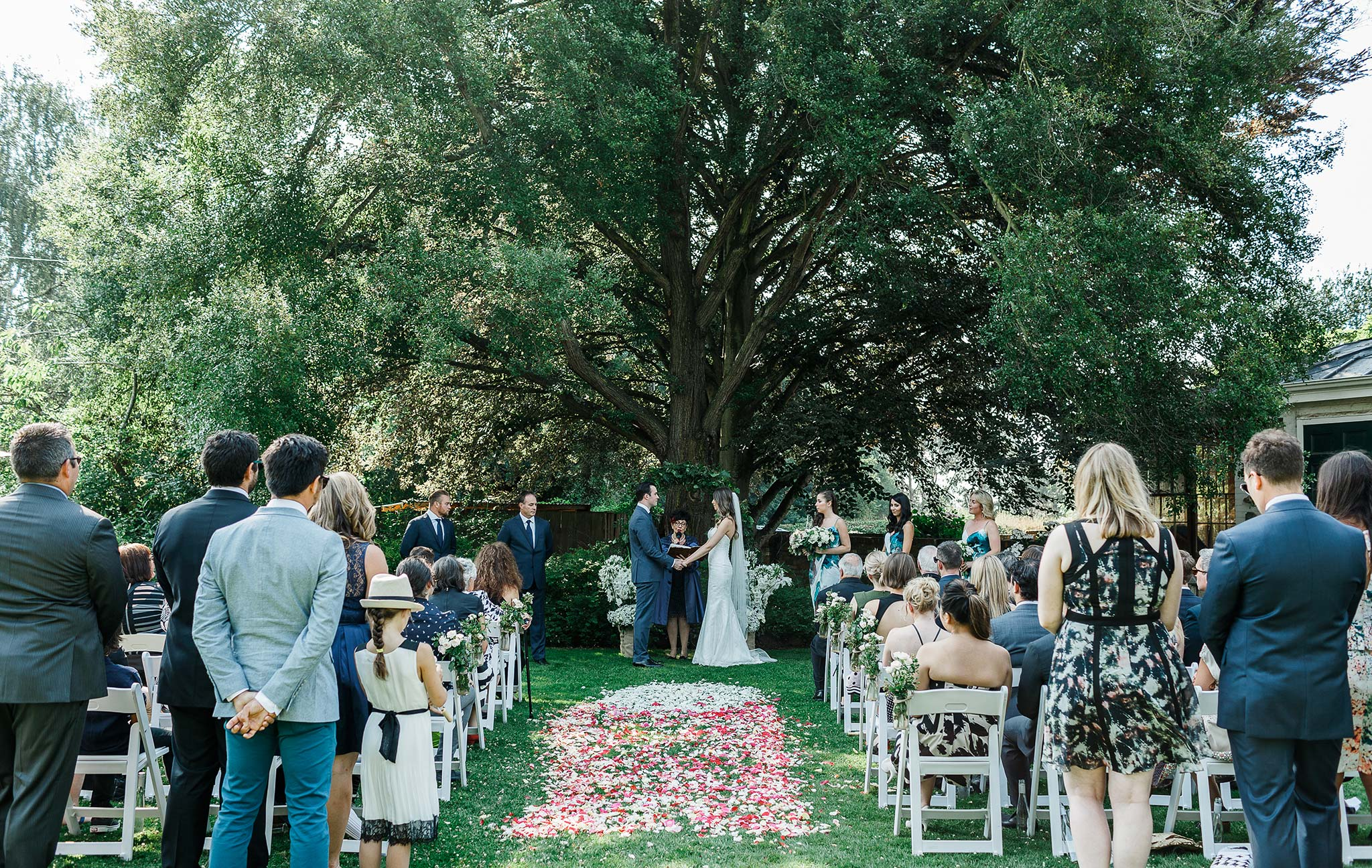 Launceston-Brickendon-barn-Wedding-Photographer-ceremony-bridal-entrance