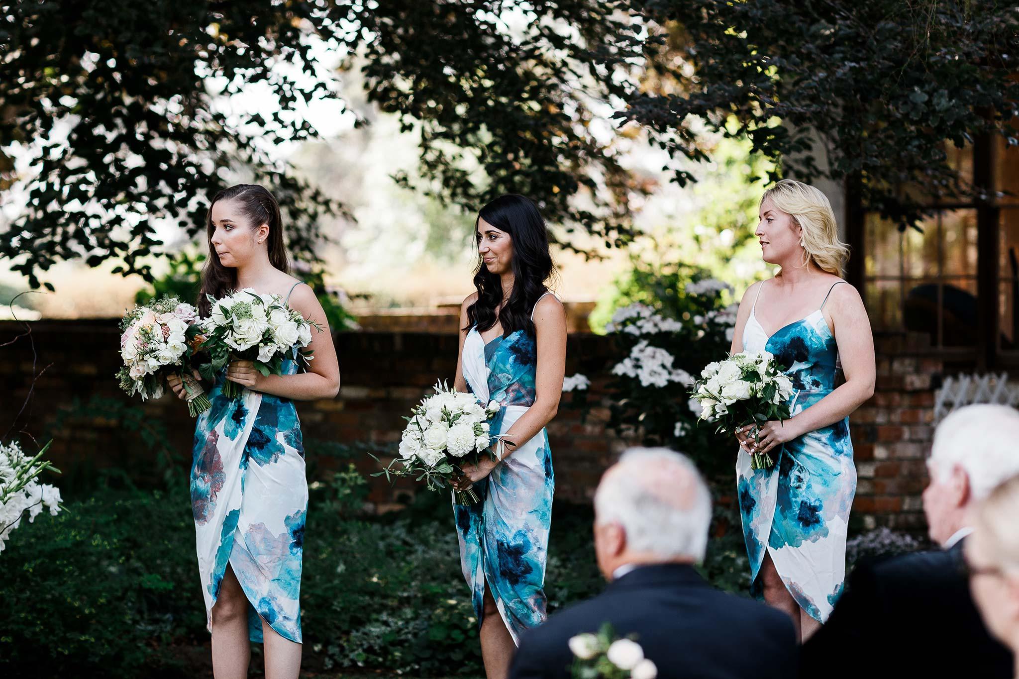 Launceston-Brickendon-barn-Wedding-Photographer-ceremony-bridesmaids