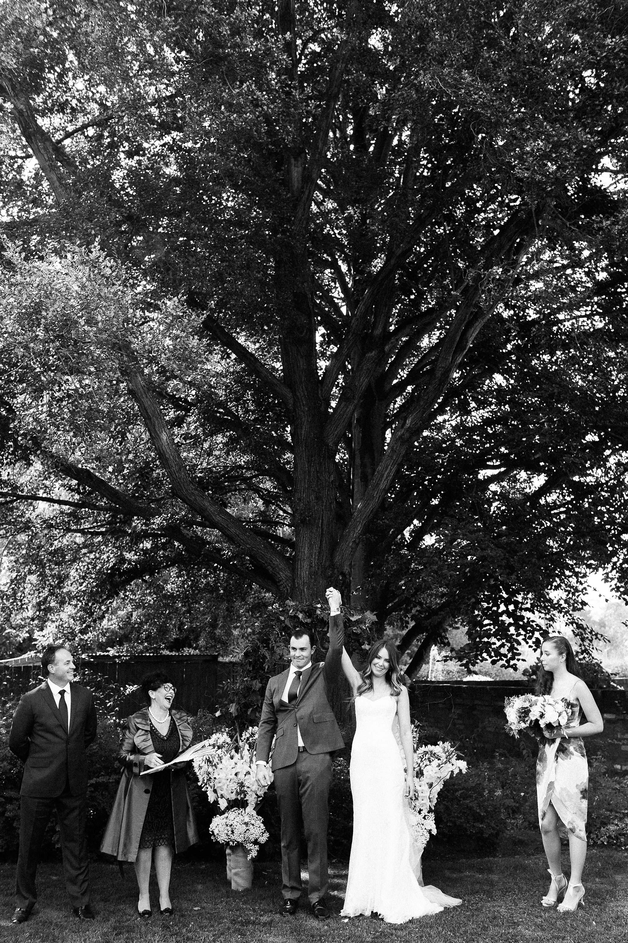 Launceston-Brickendon-Wedding-Photographer-ceremony-exit