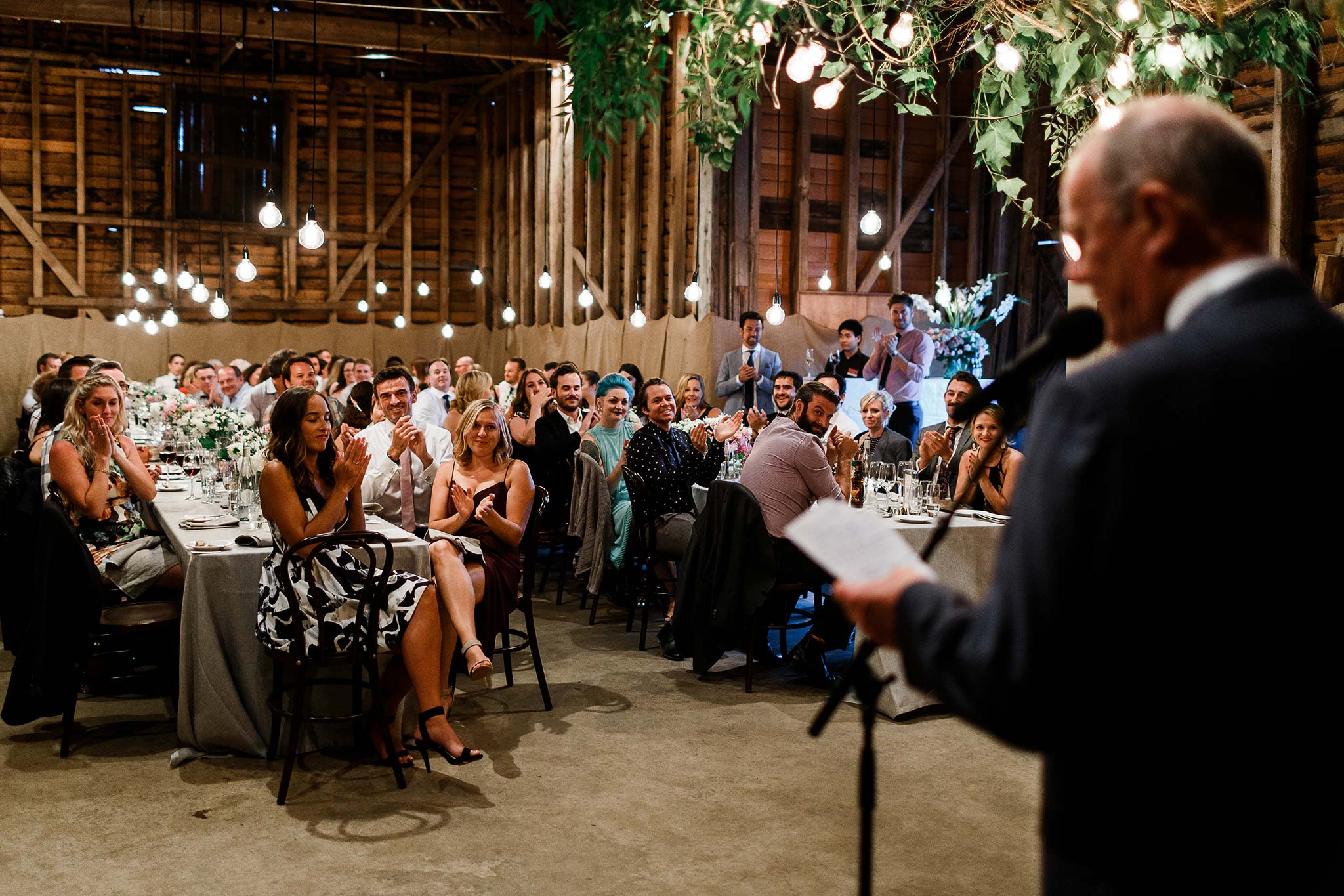 Launceston-Brickendon-barn-Wedding-Photographer-reception-dad-speech