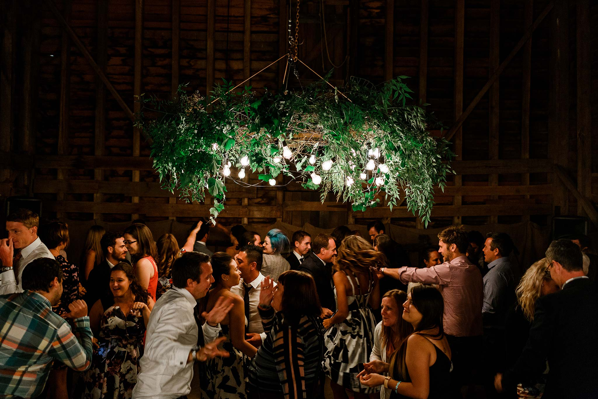 Launceston-Brickendon-barn-Wedding-Photographer-reception-dance-floor