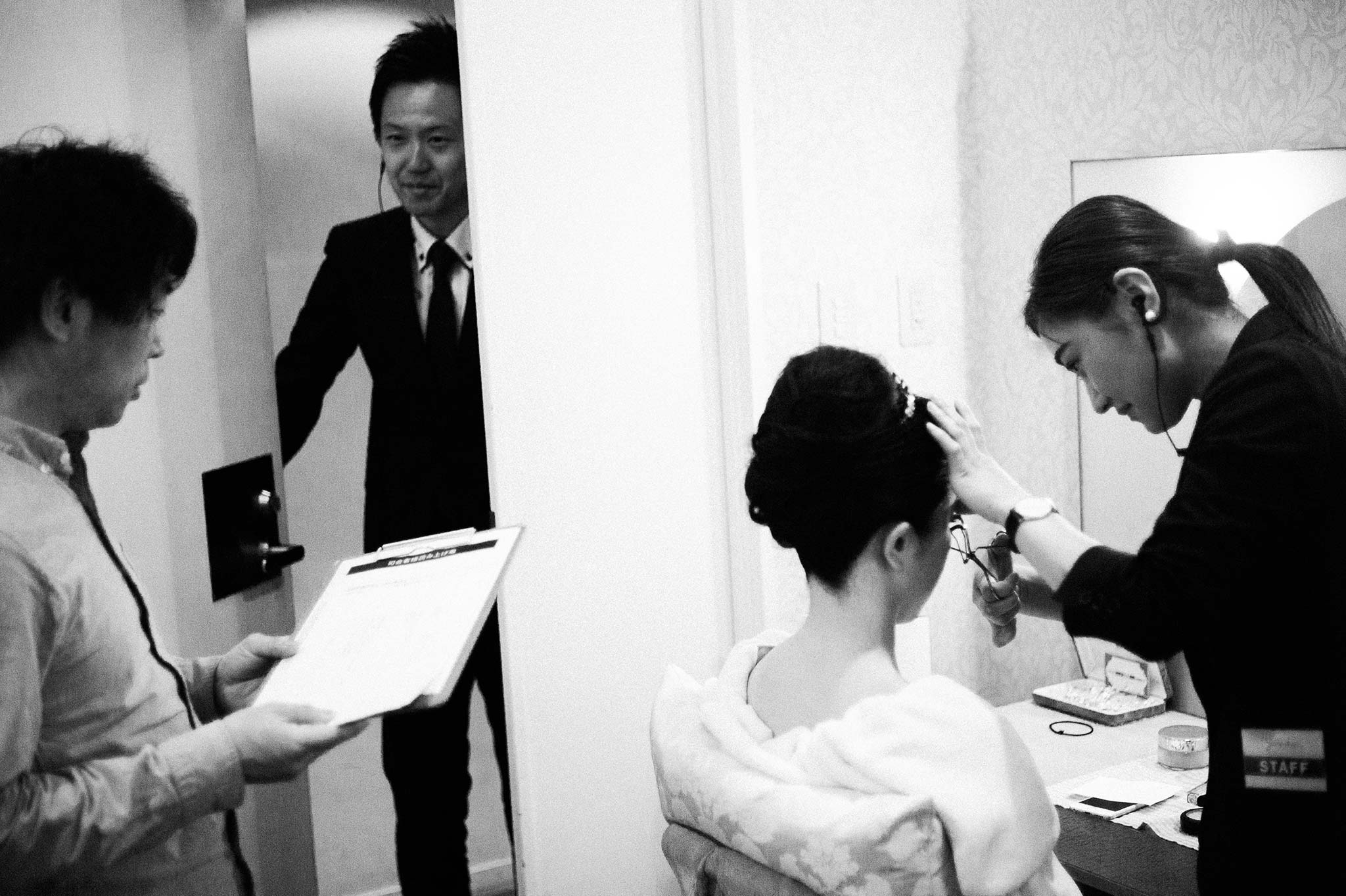 Osaka-Banpaku-Geihinkan-Wedding-getting-ready