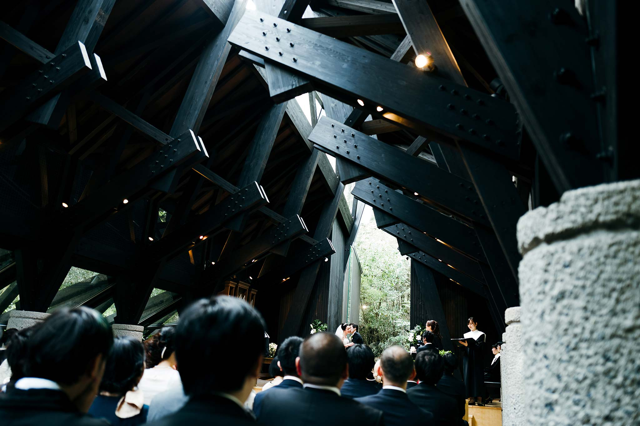 Osaka-Banpaku-Geihinkan-Wedding-ceremony-chapel