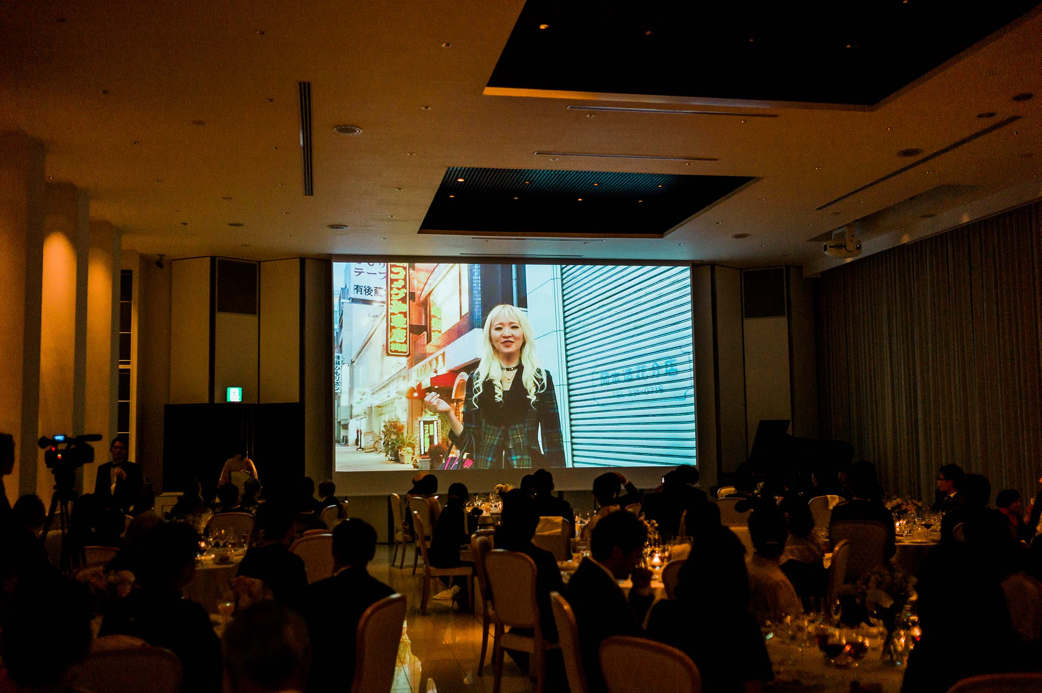 Osaka-Banpaku-Geihinkan-Wedding-reception-bride-groom-slideshow