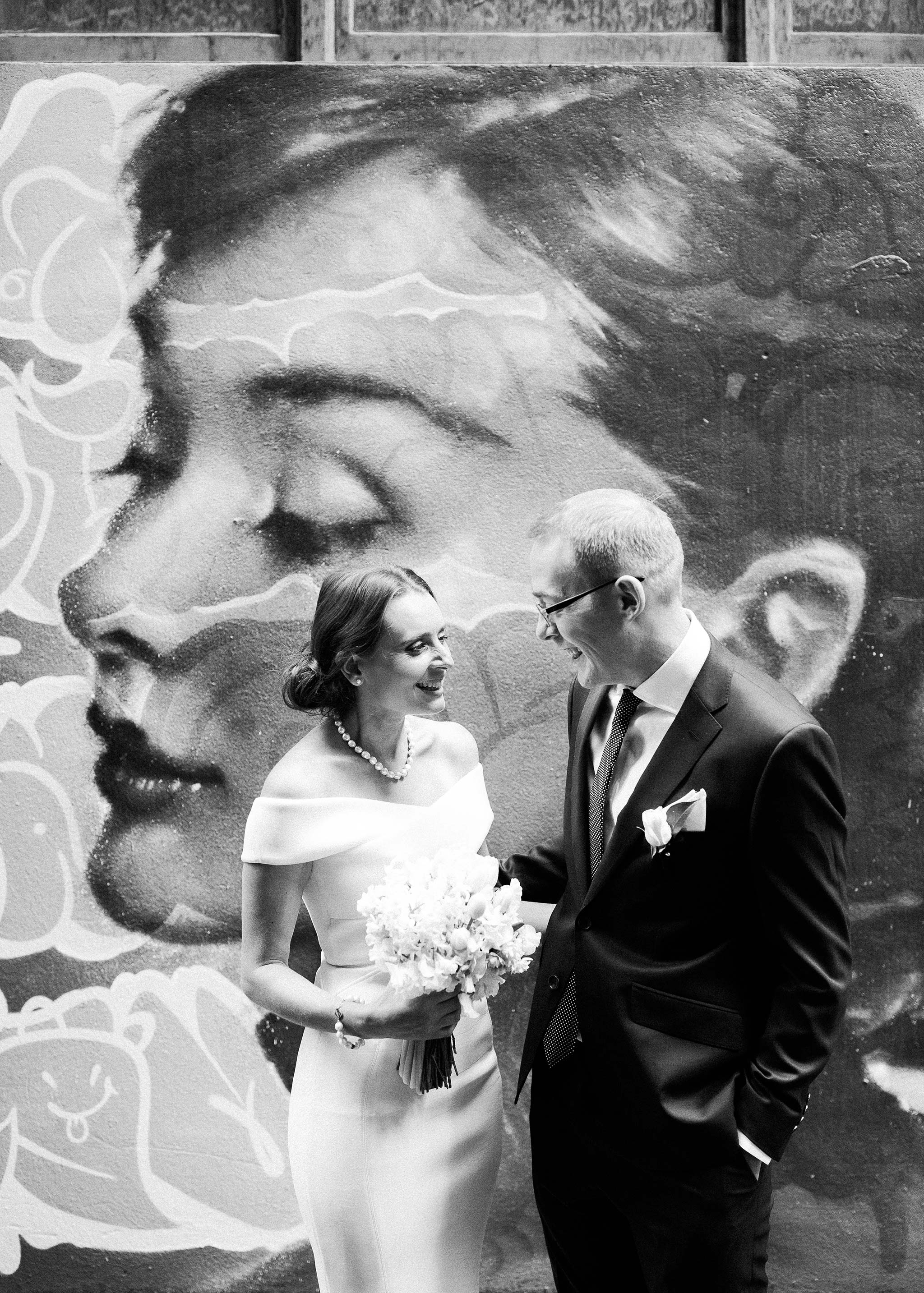melbourne-flinders-lane-wedding-portrait-laneway-graffiti-couple