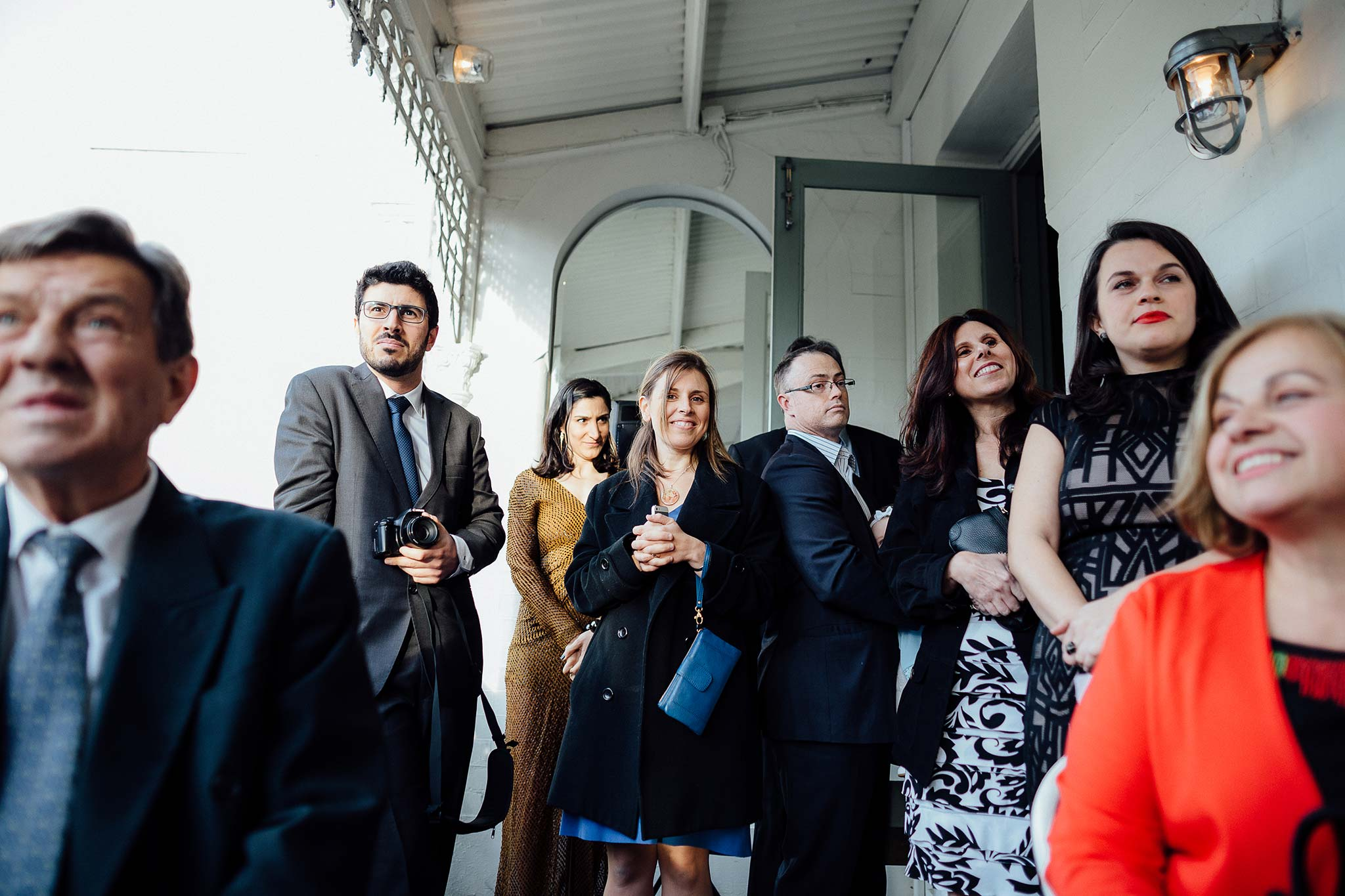 melbourne-entrecote-wedding-ceremony-balcony-guests