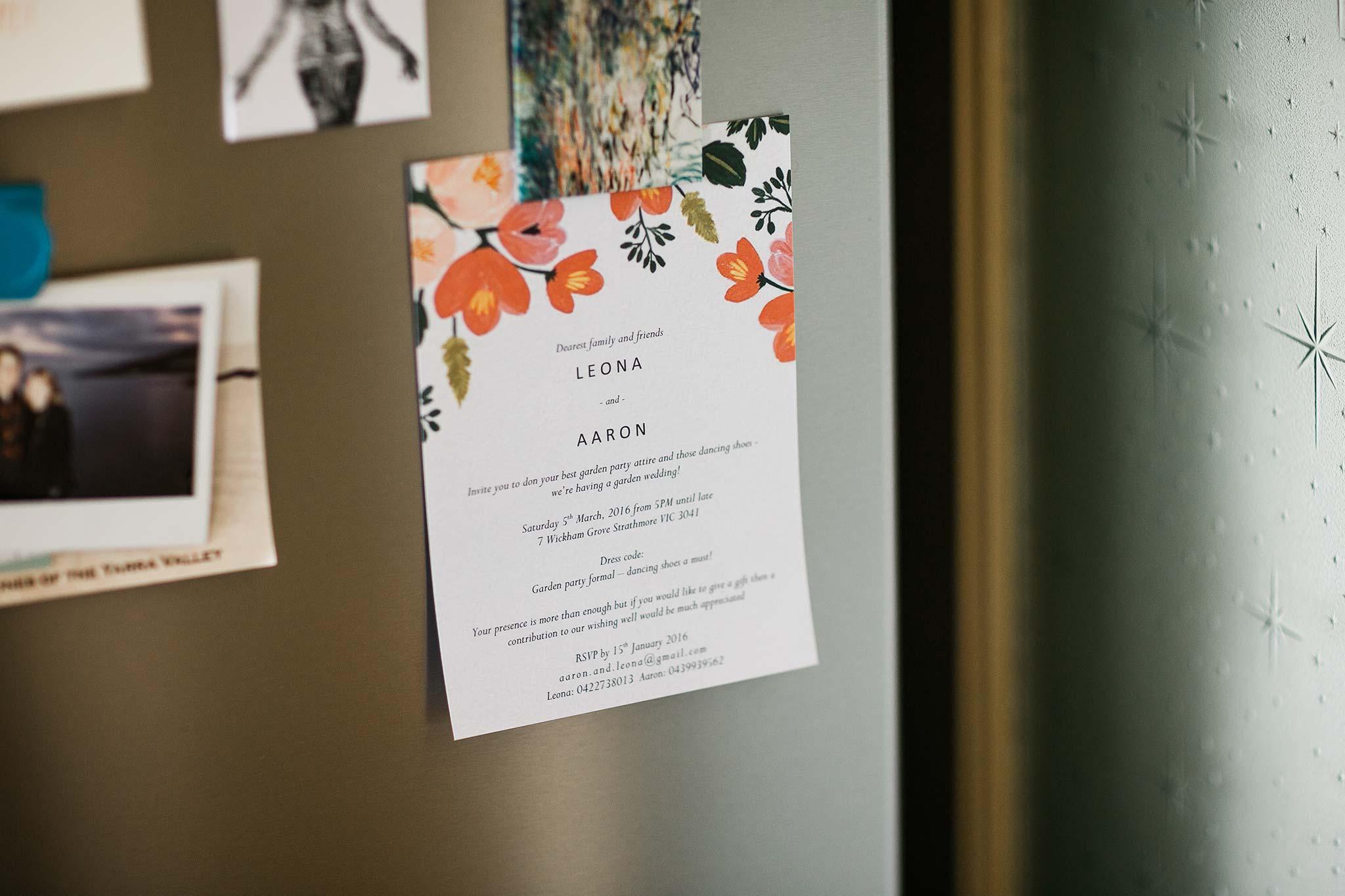 Strathmore-Melbourne-Backyard-Wedding-groom-invitation