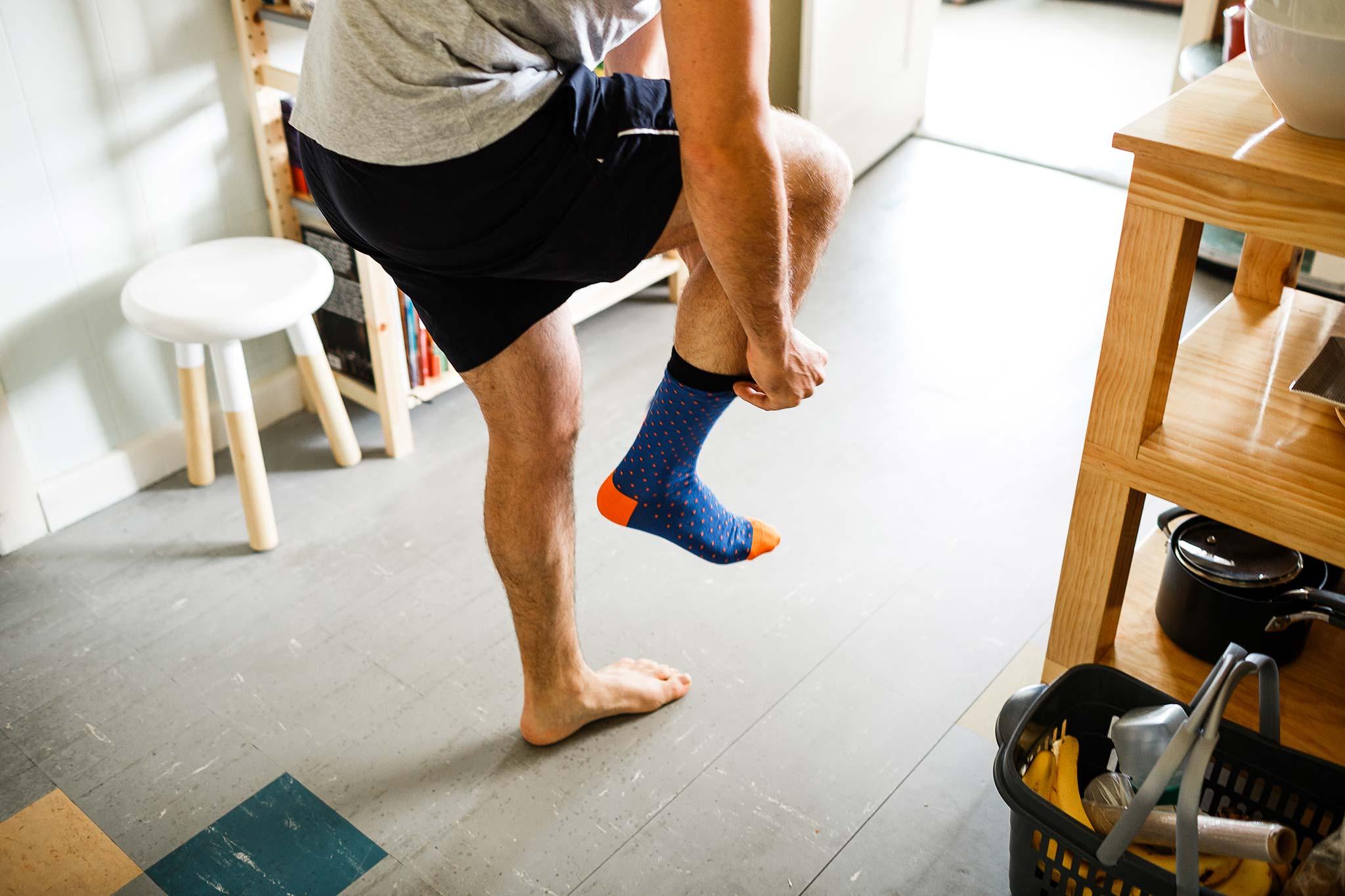 Strathmore-Melbourne-Backyard-Wedding-groom-socks
