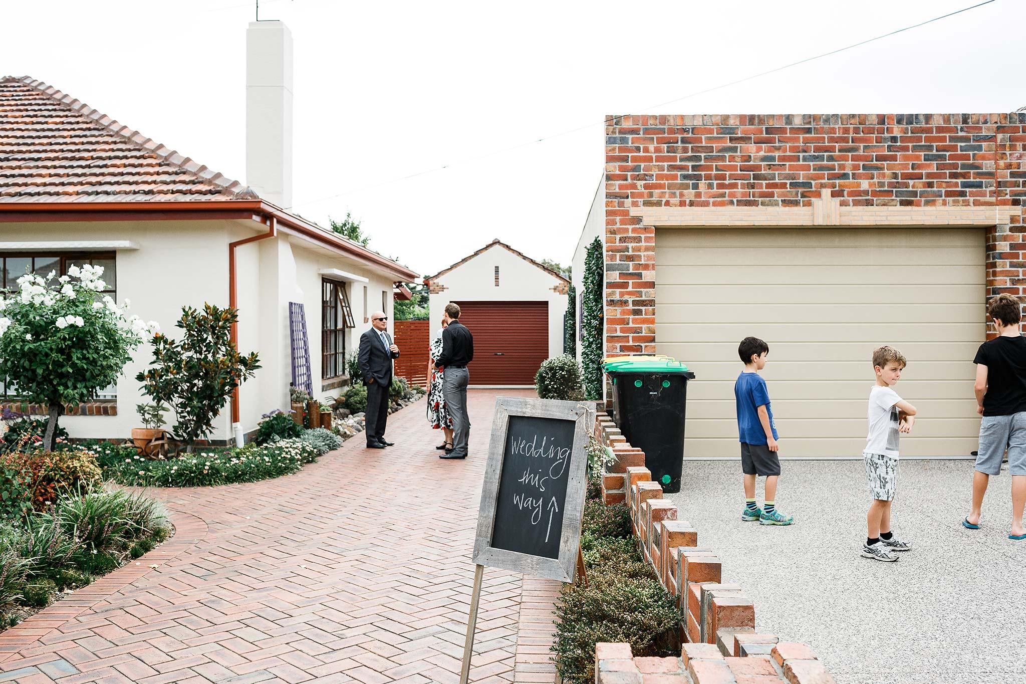 Strathmore-Melbourne-Backyard-Wedding-driveway