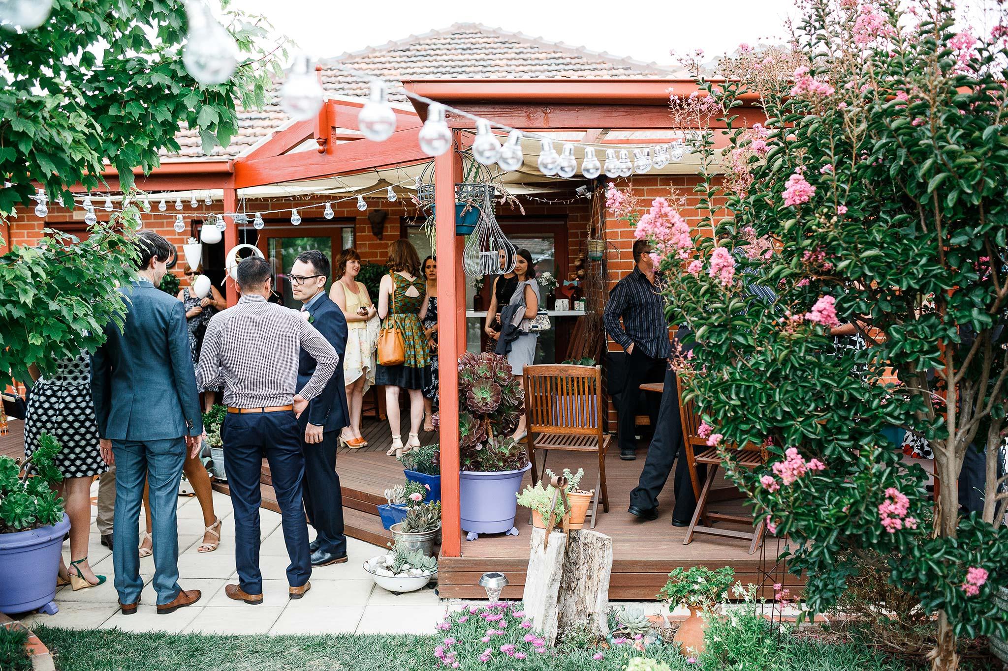Strathmore-Melbourne-Backyard-Wedding-guests-arrival