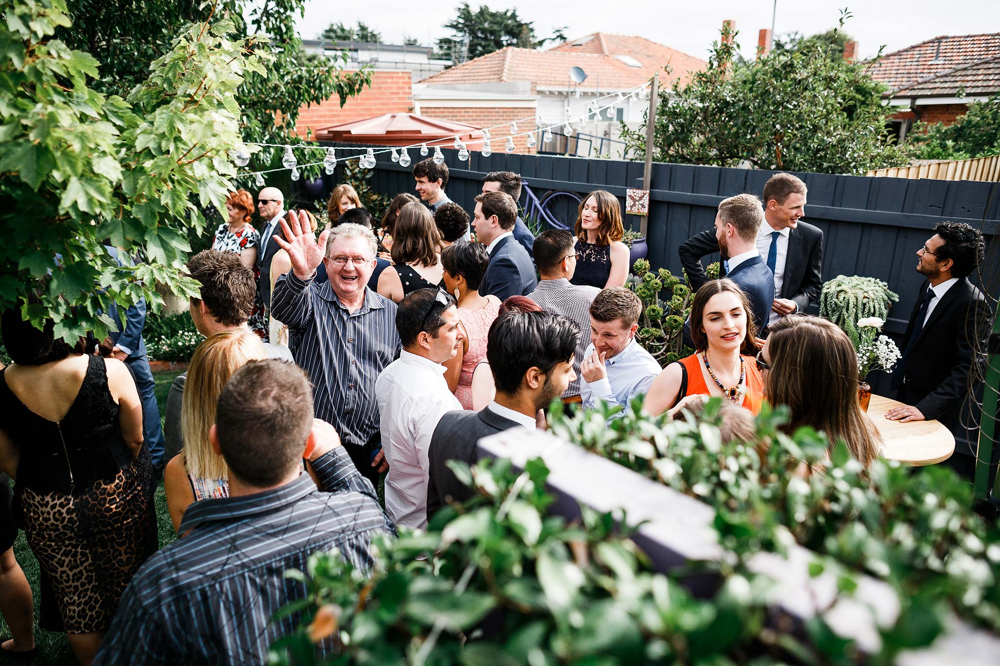 Strathmore-Melbourne-Backyard-Wedding-guests-waiting