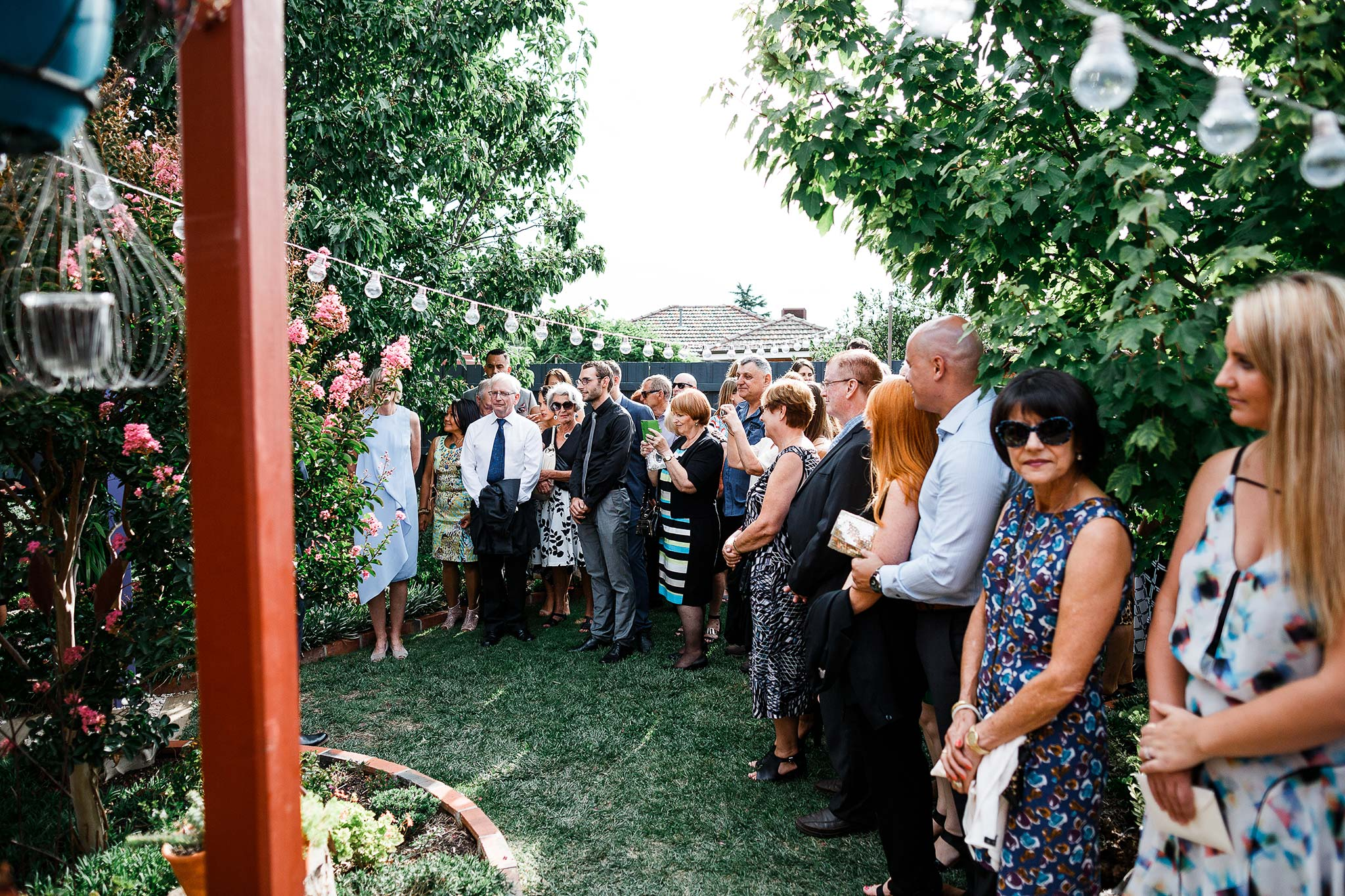 Strathmore-Melbourne-Backyard-Wedding-ceremony-starting
