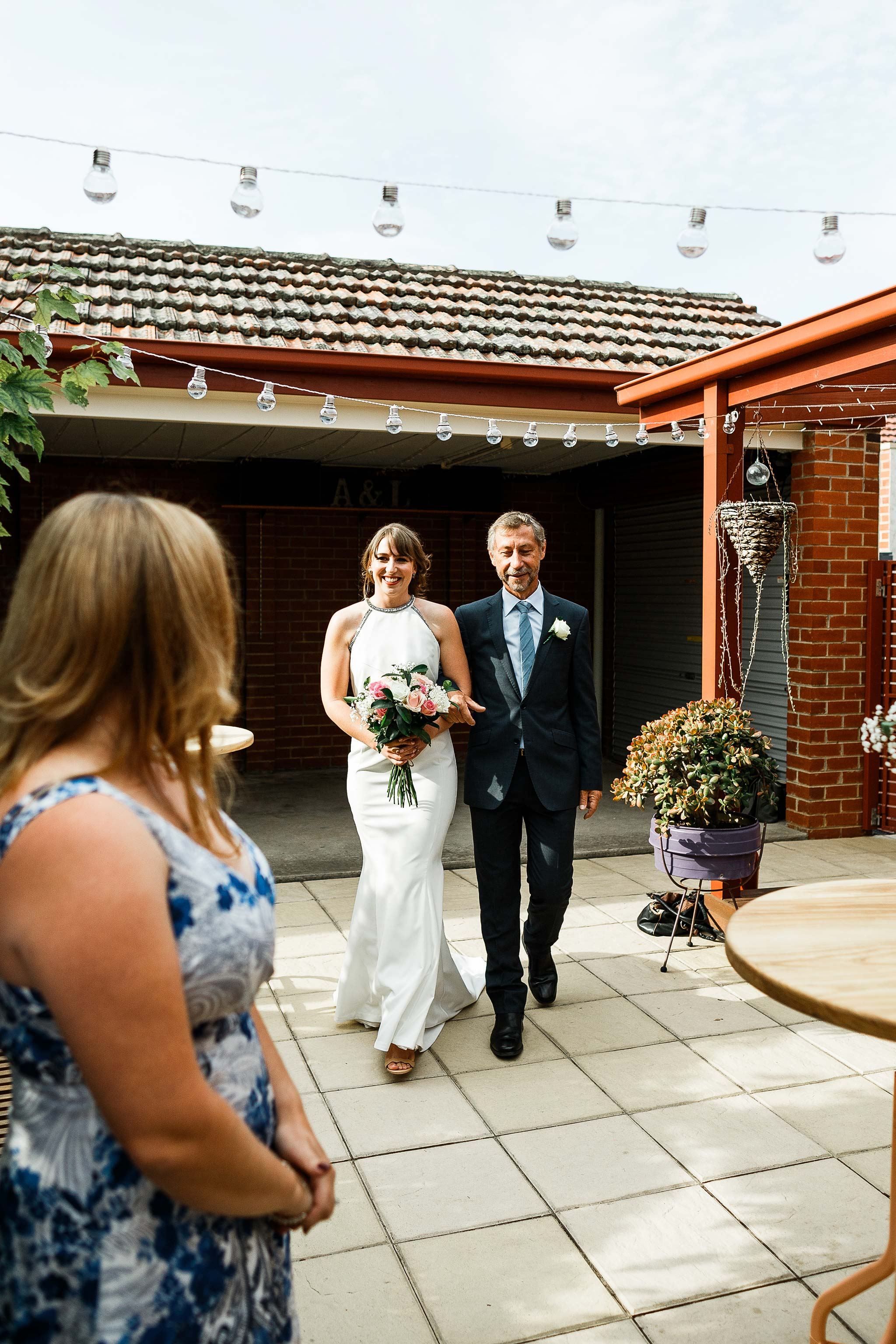 Strathmore-Melbourne-Backyard-Wedding-bridal-entrance