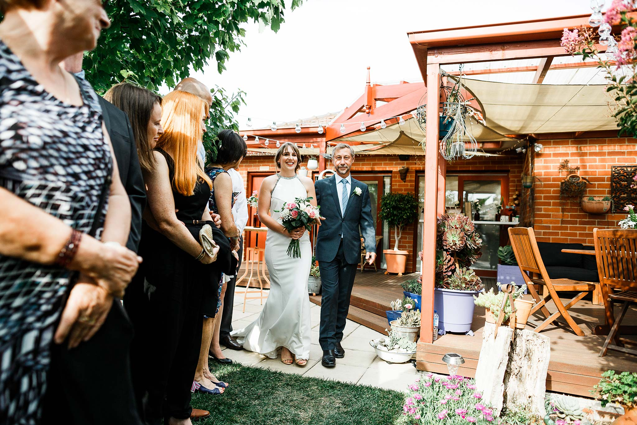 Strathmore-Melbourne-Backyard-Wedding-bridal-entry