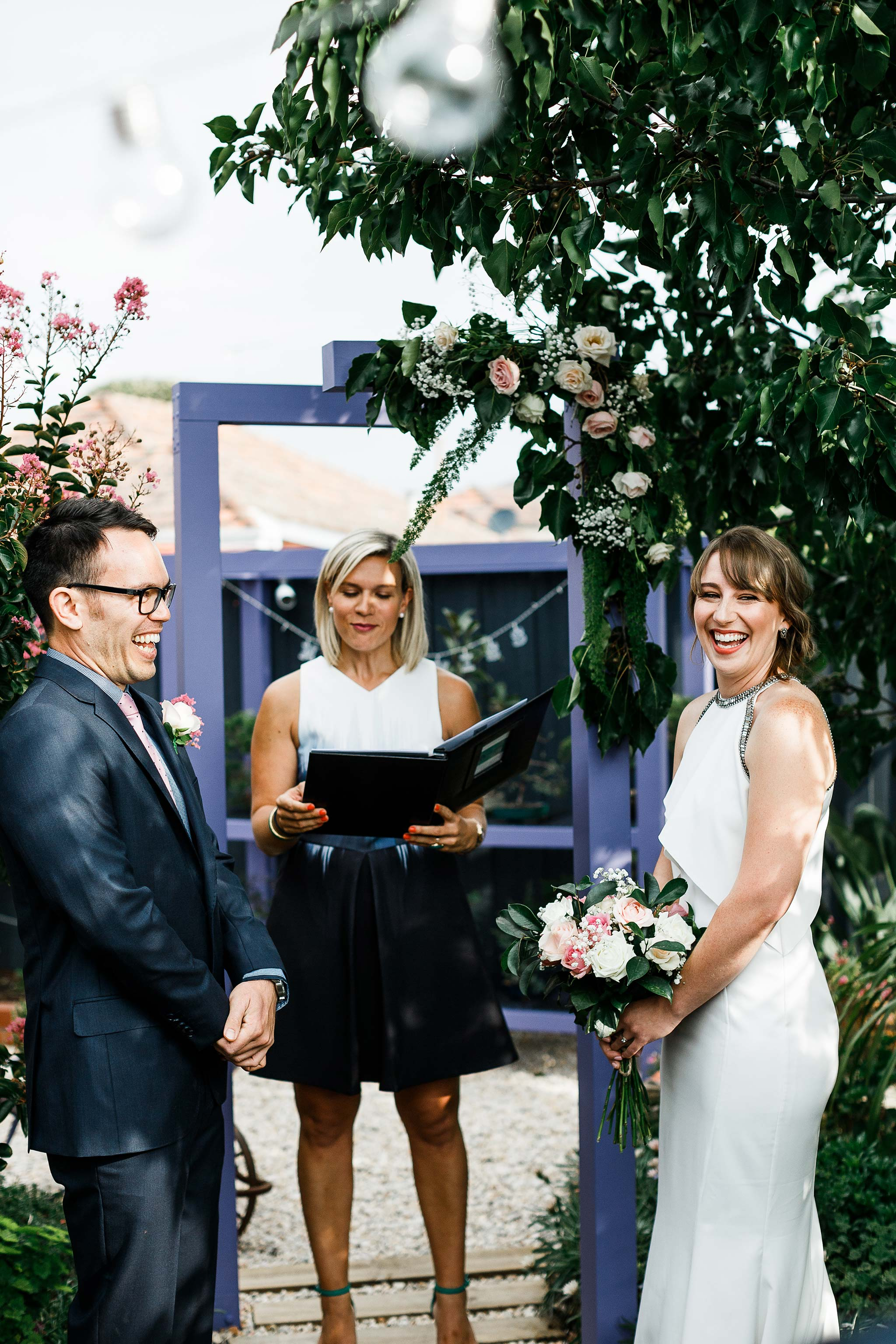 Strathmore-Melbourne-Backyard-Wedding-ceremony