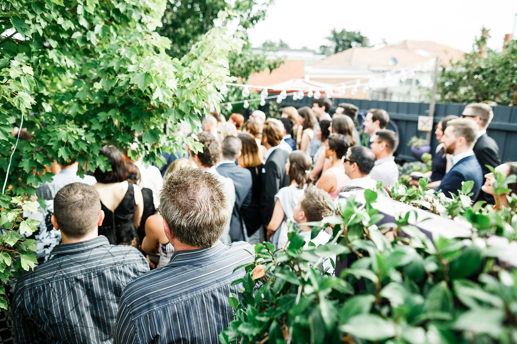Strathmore-Melbourne-Backyard-Wedding-ceremony-guests