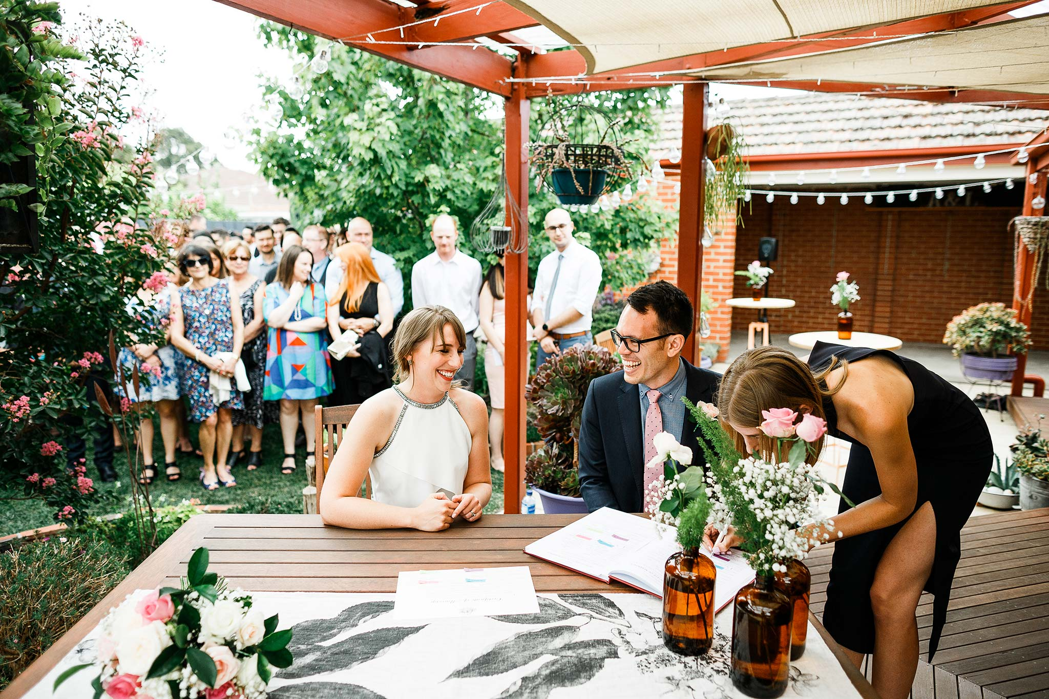 Strathmore-Melbourne-Backyard-Wedding-signing