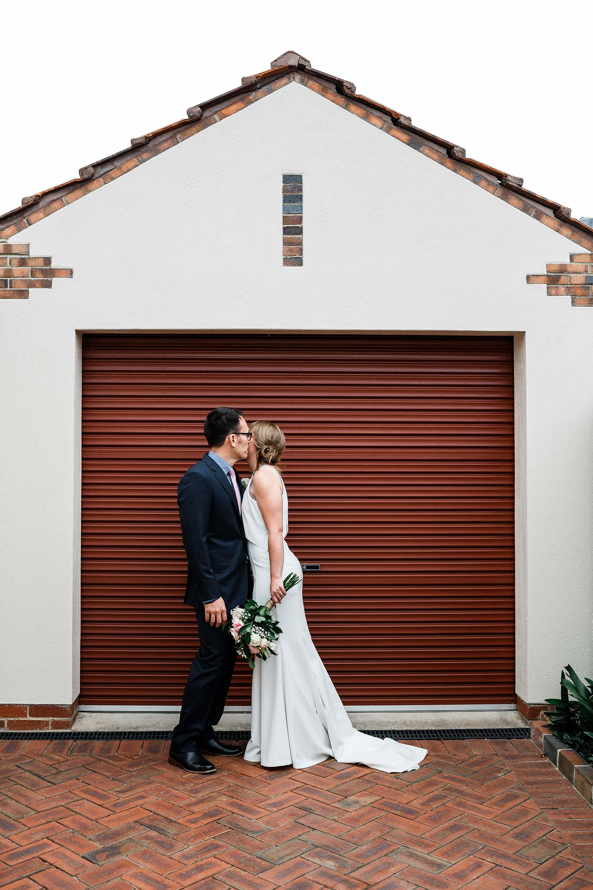 Strathmore-Melbourne-Backyard-Wedding-backyard-kiss