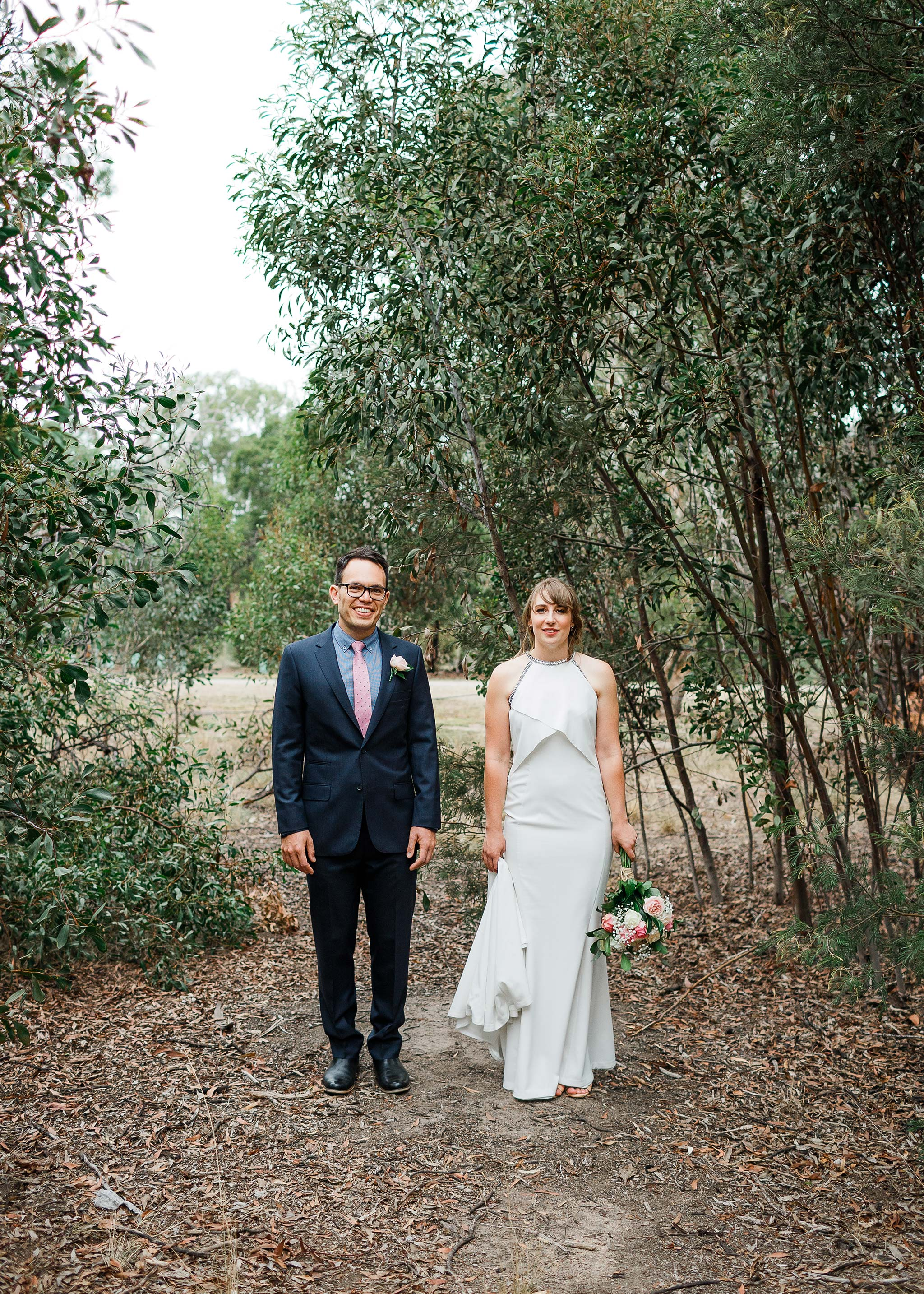Strathmore-Melbourne-Backyard-Wedding-napier-park-bride-groom-portrait