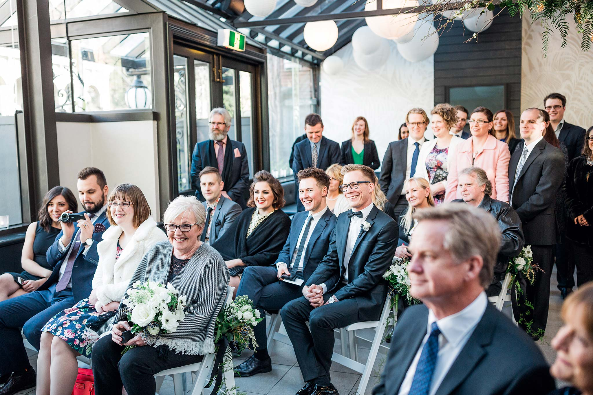 melbourne-fitzroy-st-andrews-conservatory-pumphouse-wedding-venue-ceremony-guests-reaction