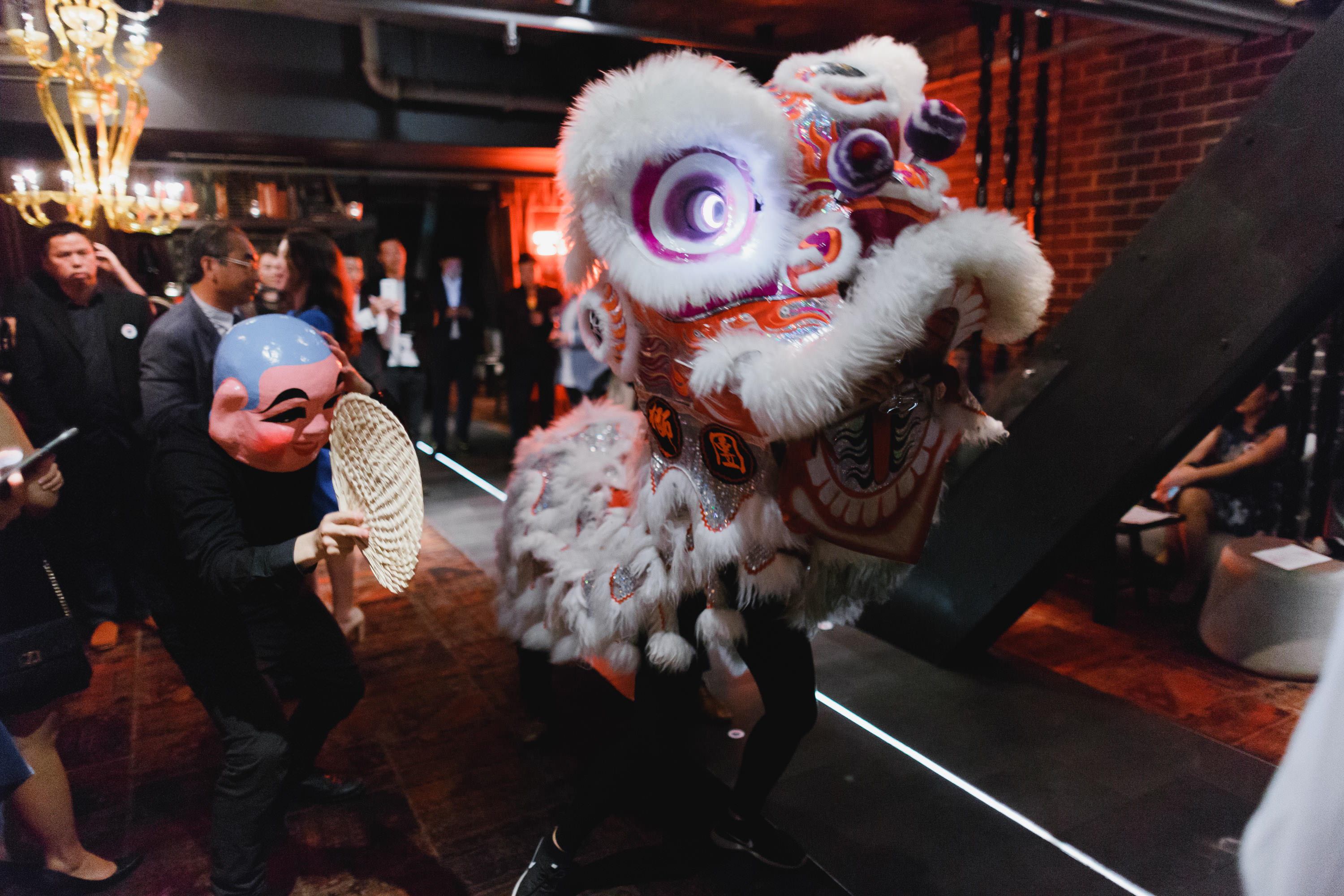Moutai-Melbourne-Cocktail-Den-Atlantic-lion-dance