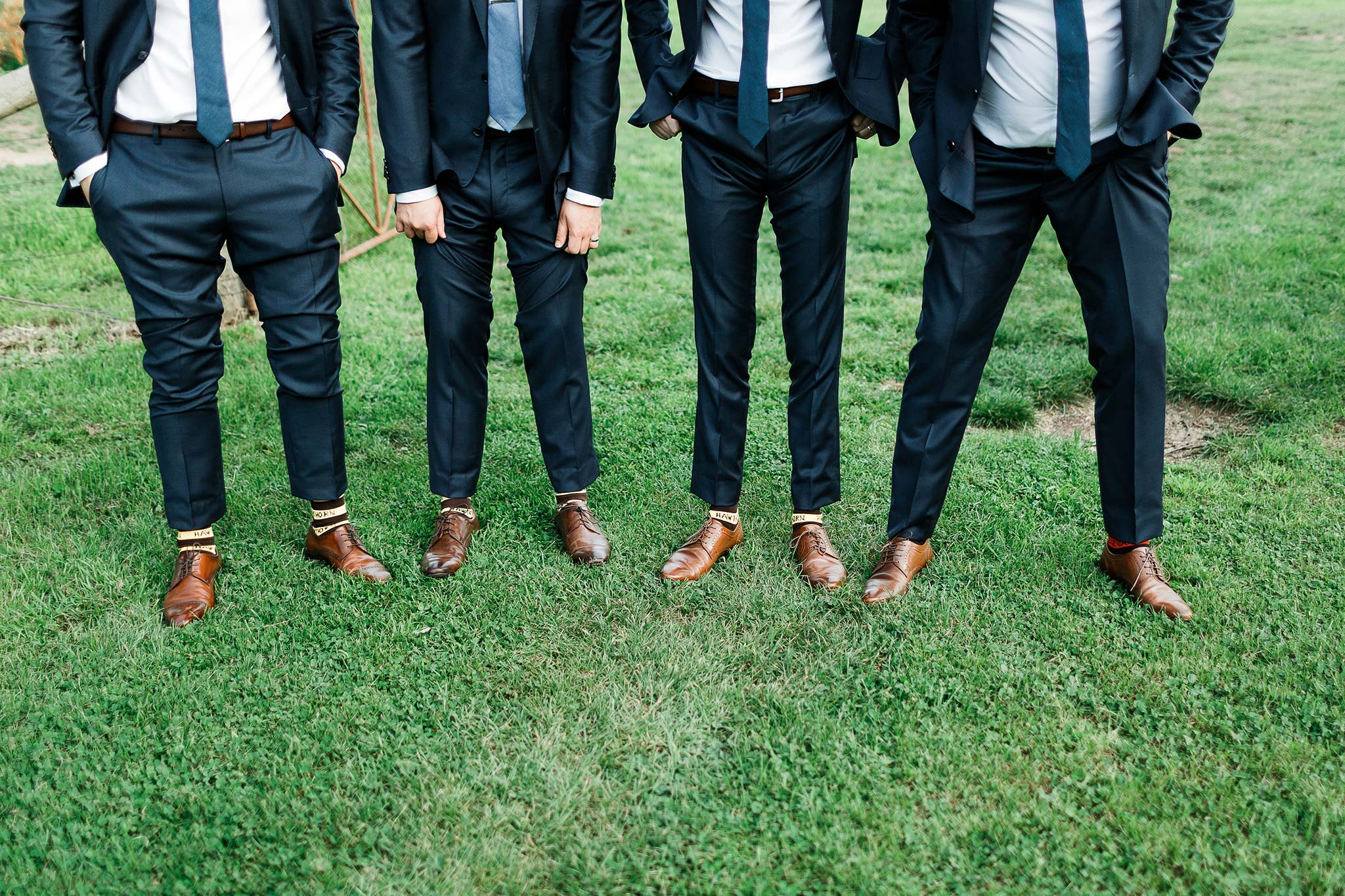 Tasmania-Davenport-Farm-Wedding-groomsmen-socks