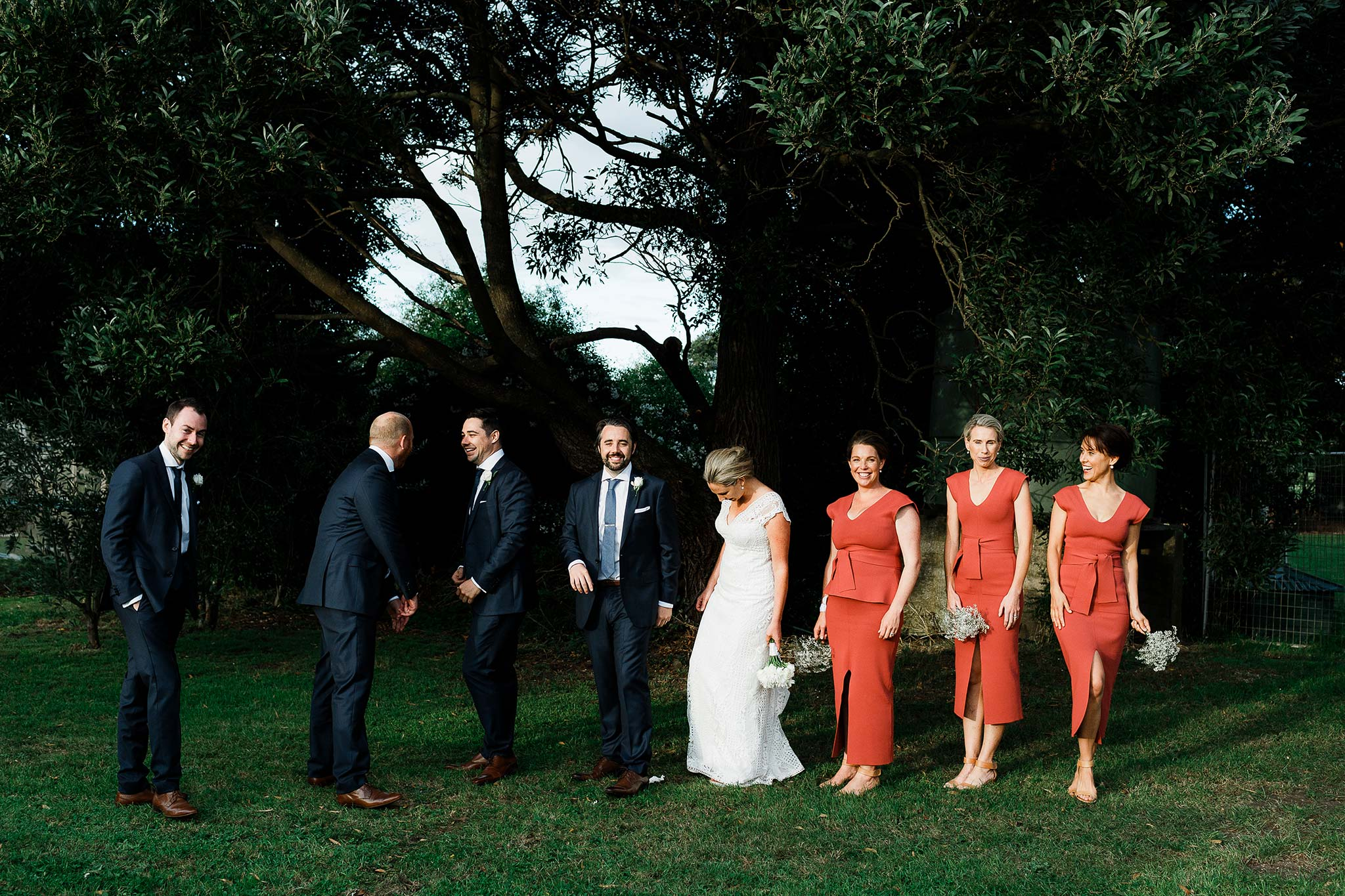 Tasmania-Davenport-Farm-Wedding-group-portrait