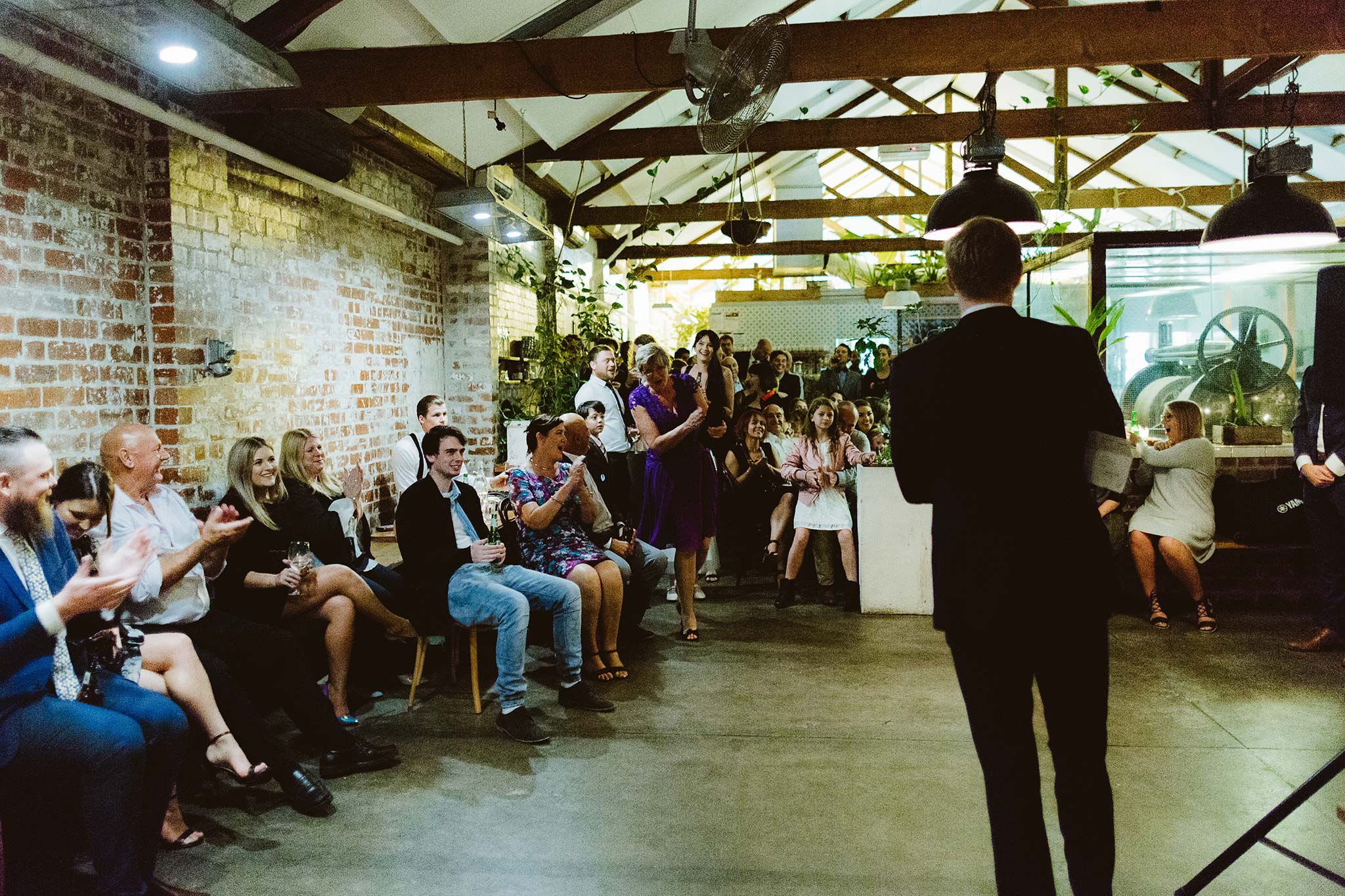 Melbourne-North-Carlton-East-Elevation-Surprise-Winter-warehouse-Wedding-photographer-announcement