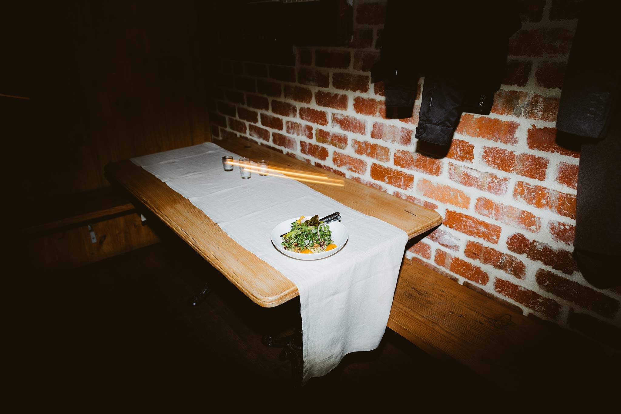 Melbourne-North-Carlton-East-Elevation-Surprise-Winter-warehouse-Wedding-photographer-meal