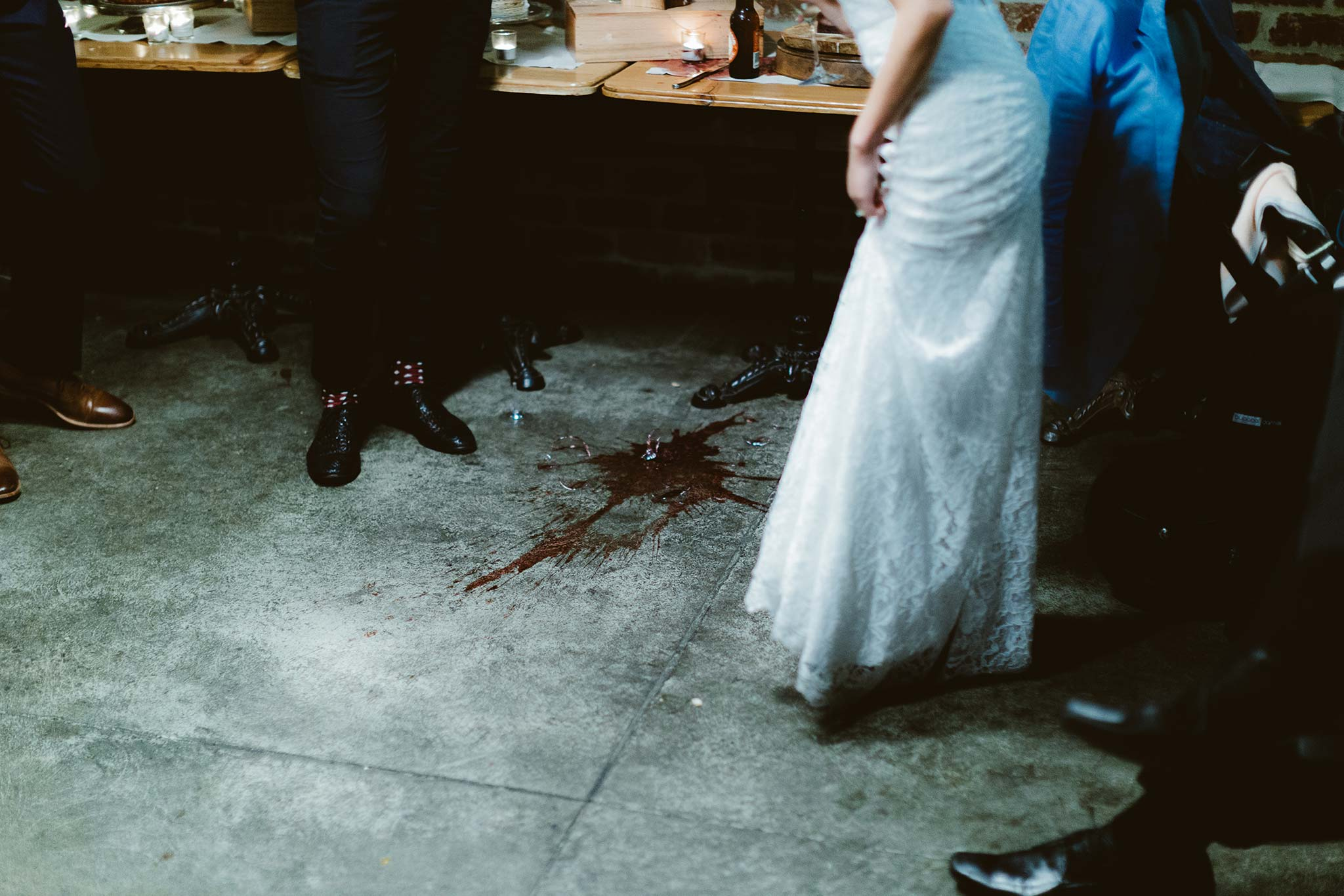 Melbourne-North-Carlton-East-Elevation-Surprise-Winter-warehouse-Wedding-photographer-accident