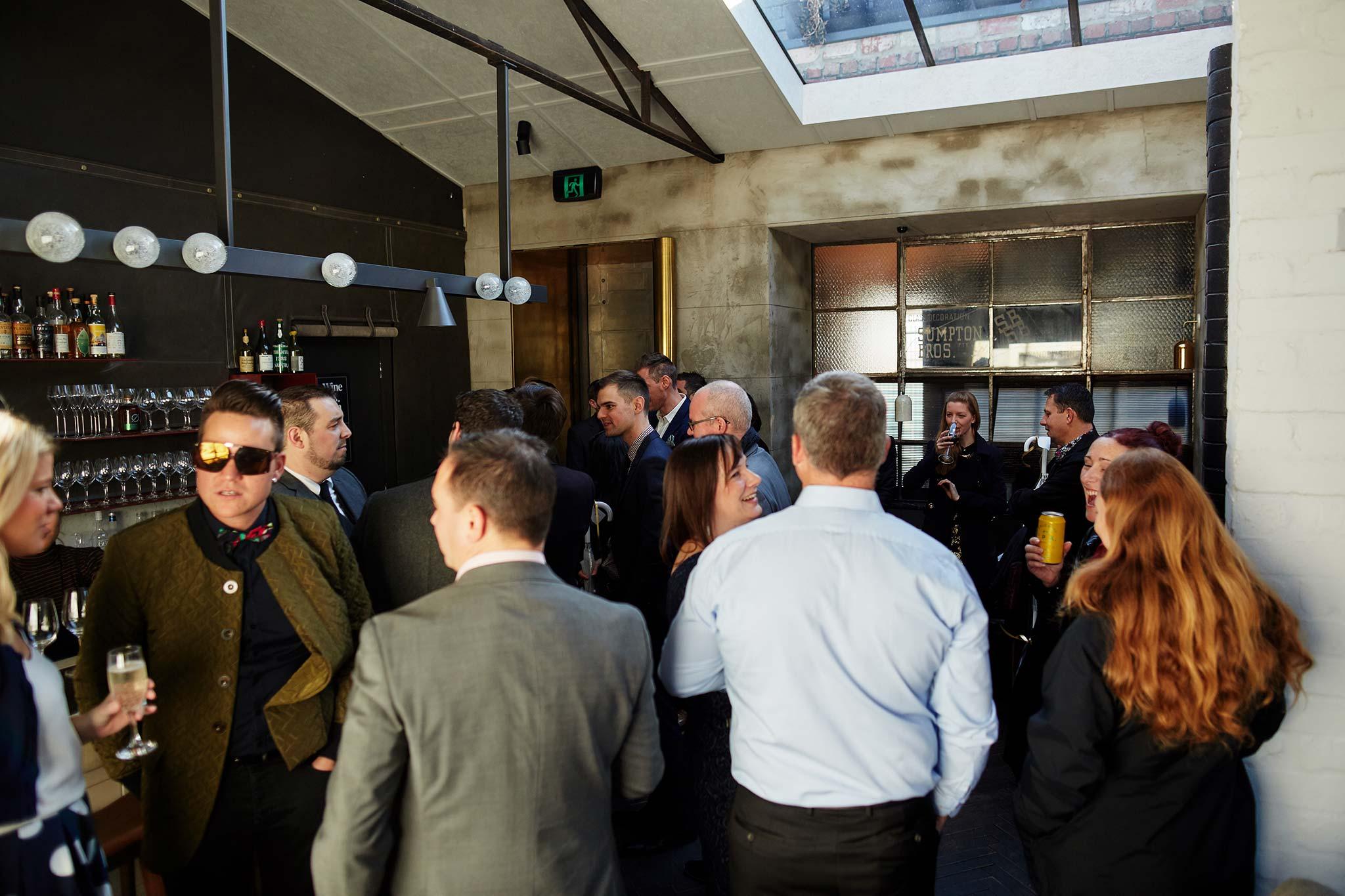 Melbourne-Wedding-Photographer-smalls-bar-guests