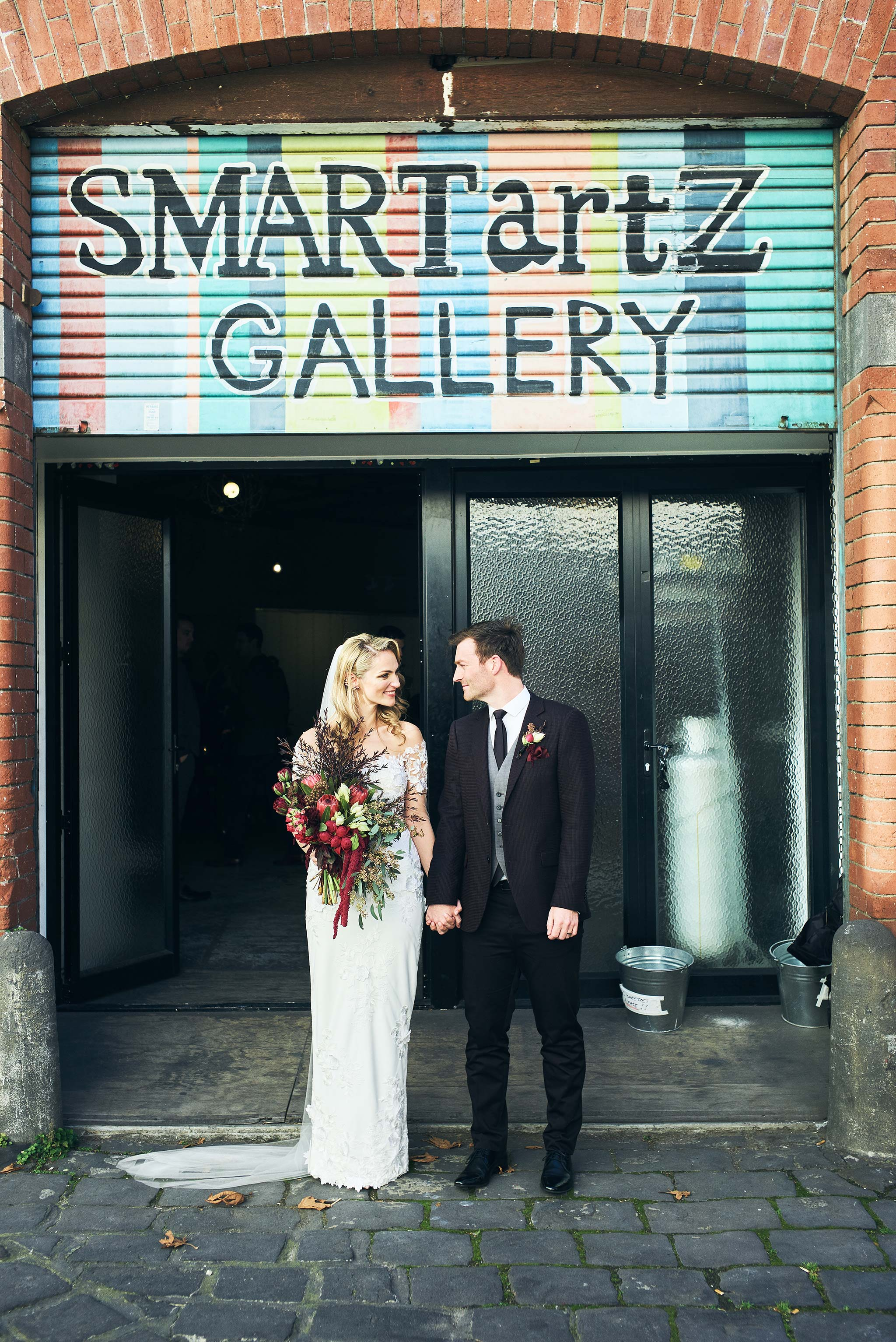 Melbourne-Wedding-Photographer-smartartz-gallery-ceremony-exit
