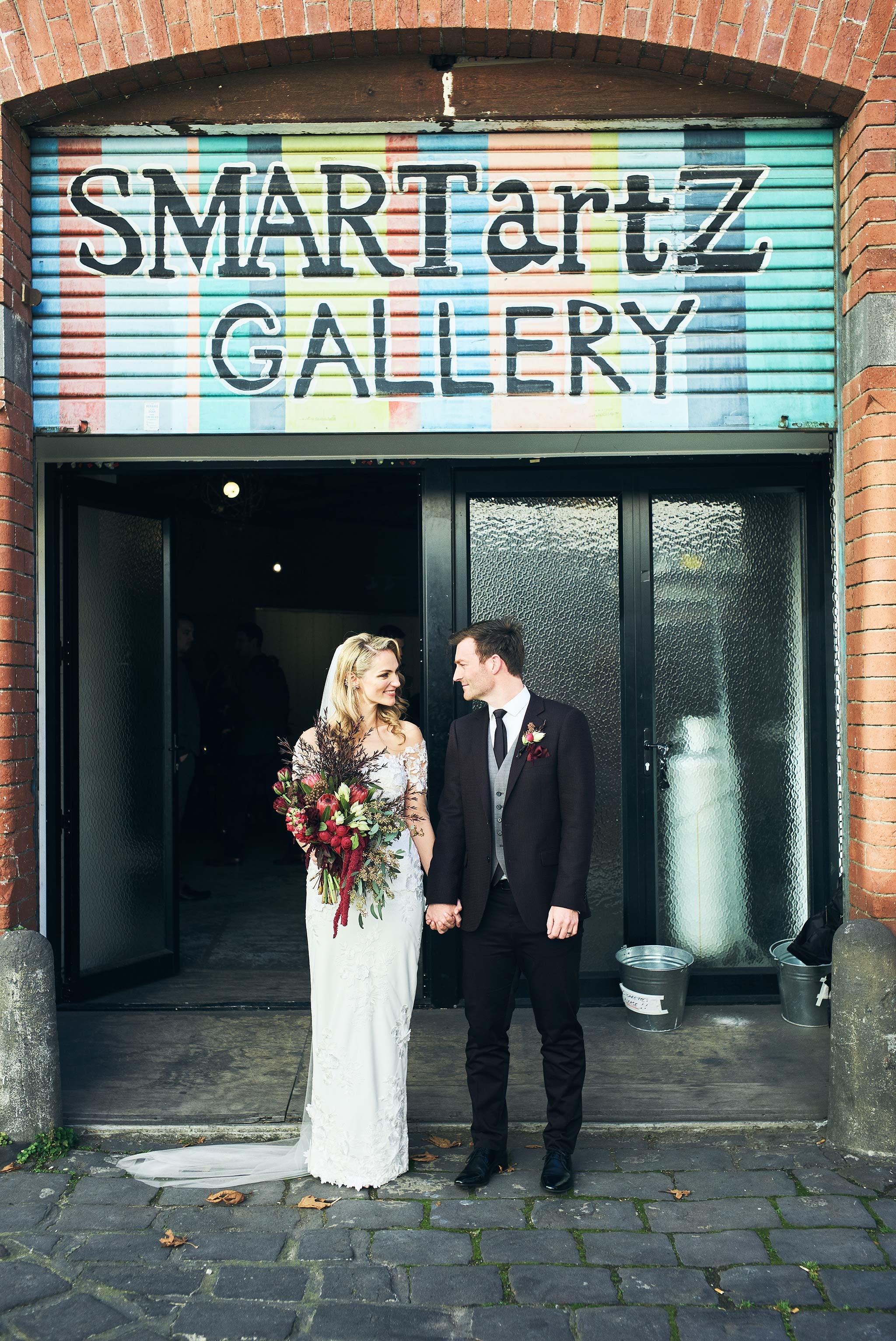 Melbourne-Wedding-Photographer-smartartz-gallery-ceremony-exit
