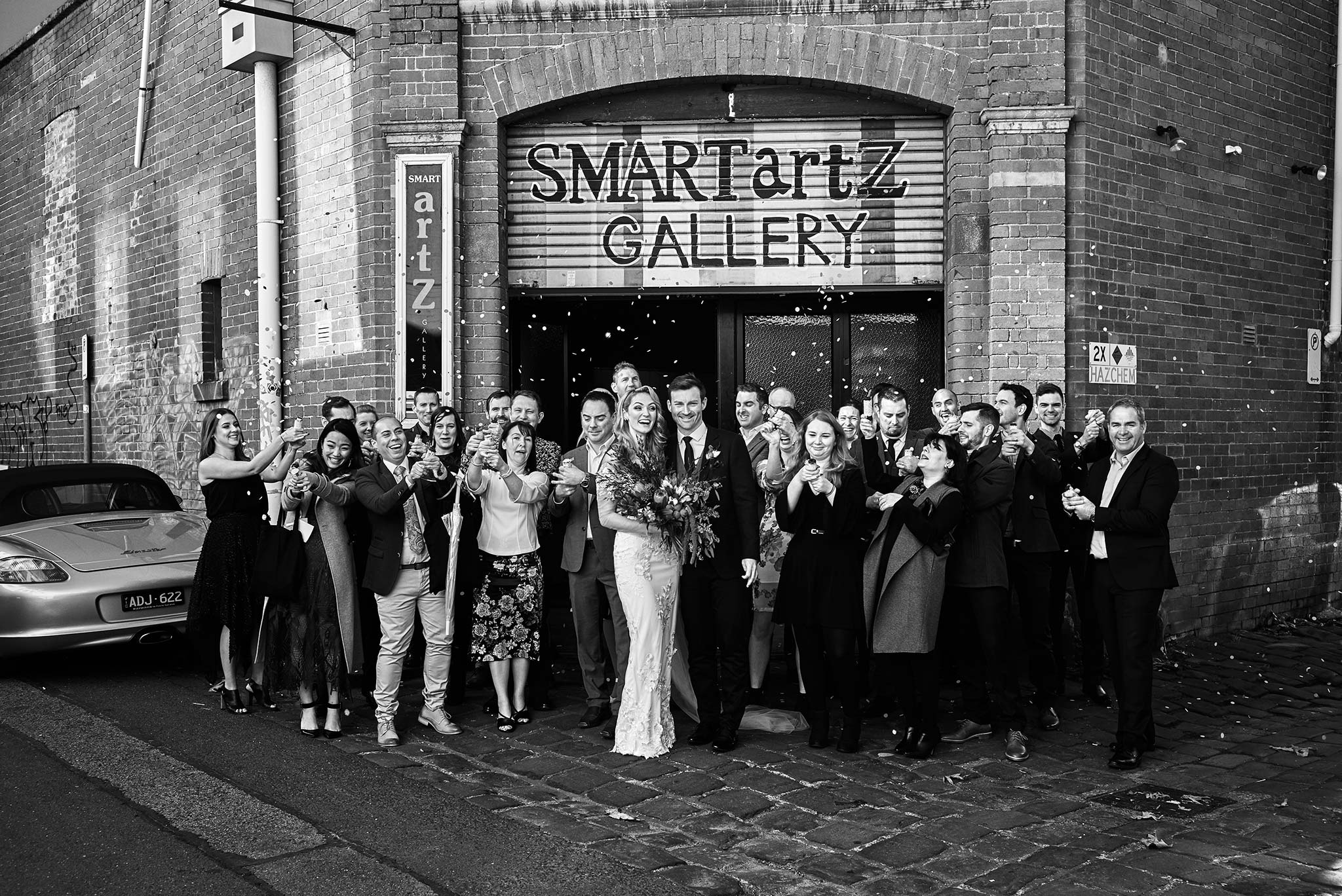 Melbourne-Wedding-Photographer-smartartz-gallery-ceremony-group