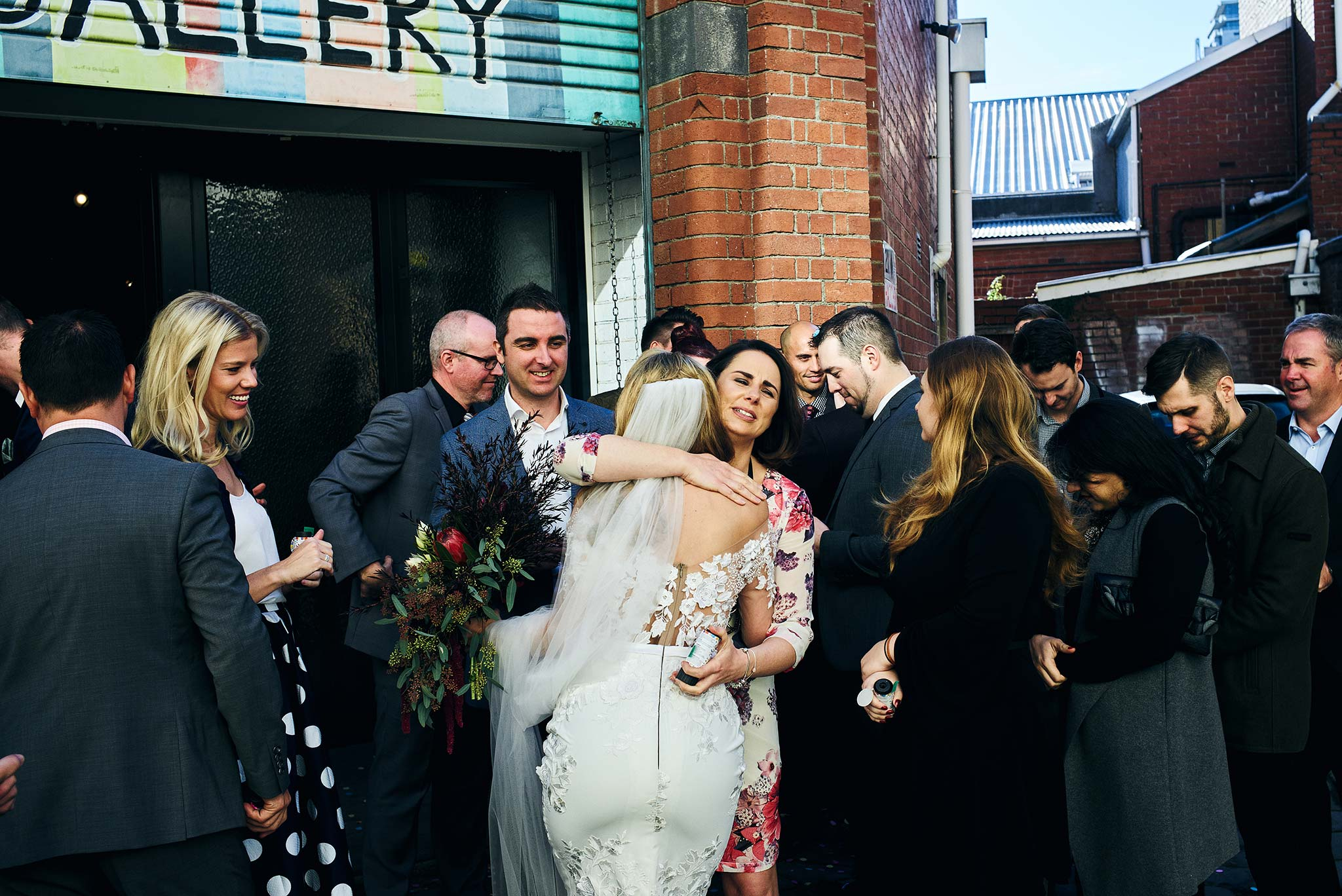 Melbourne-Wedding-Photographer-smartartz-gallery-ceremony-hug