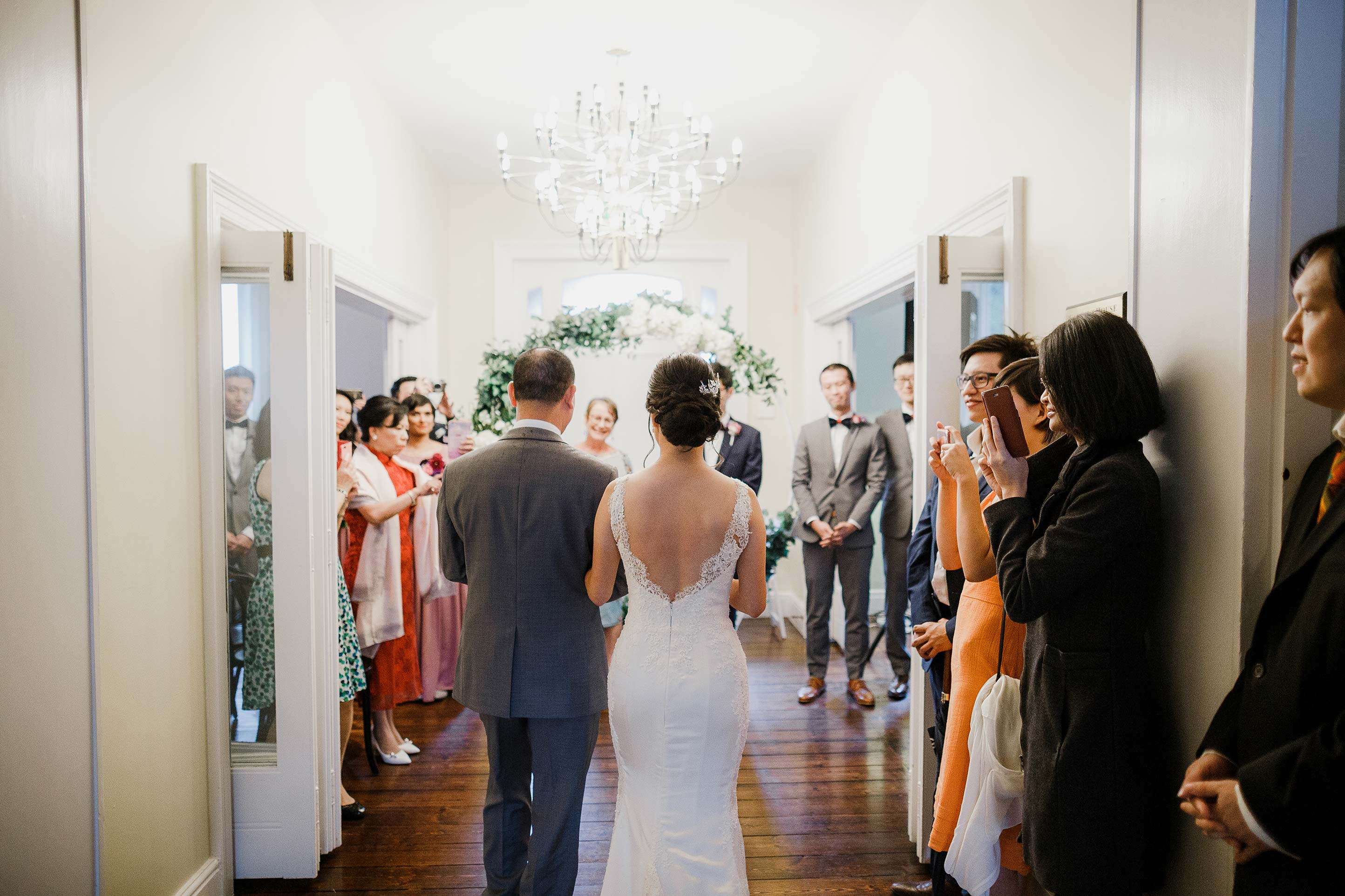 Melbourne-Botanical-Gardens-House-Ceremony-Arrival