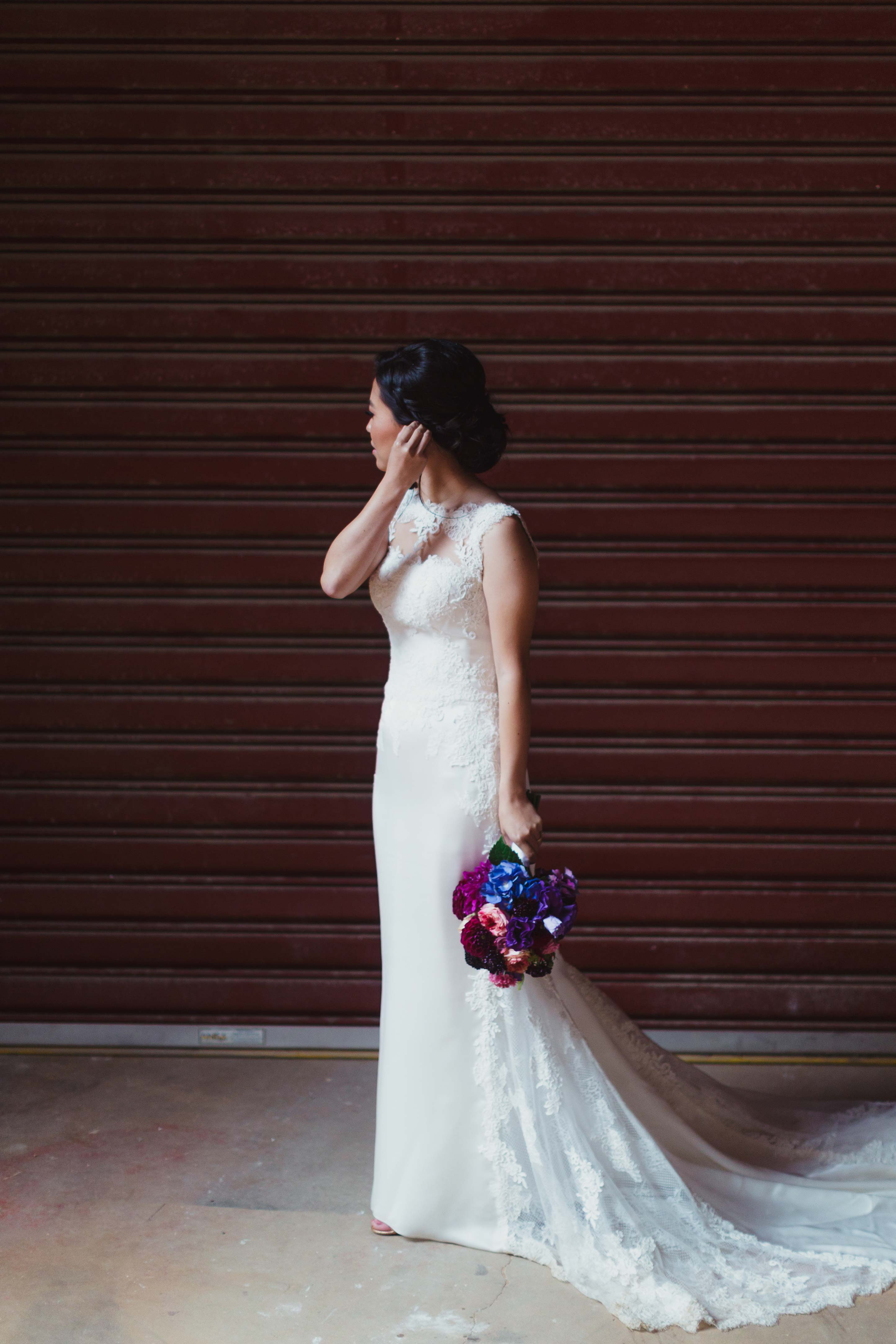 Melbourne-Richmond-Glasshaus-Wedding-bride-portrait