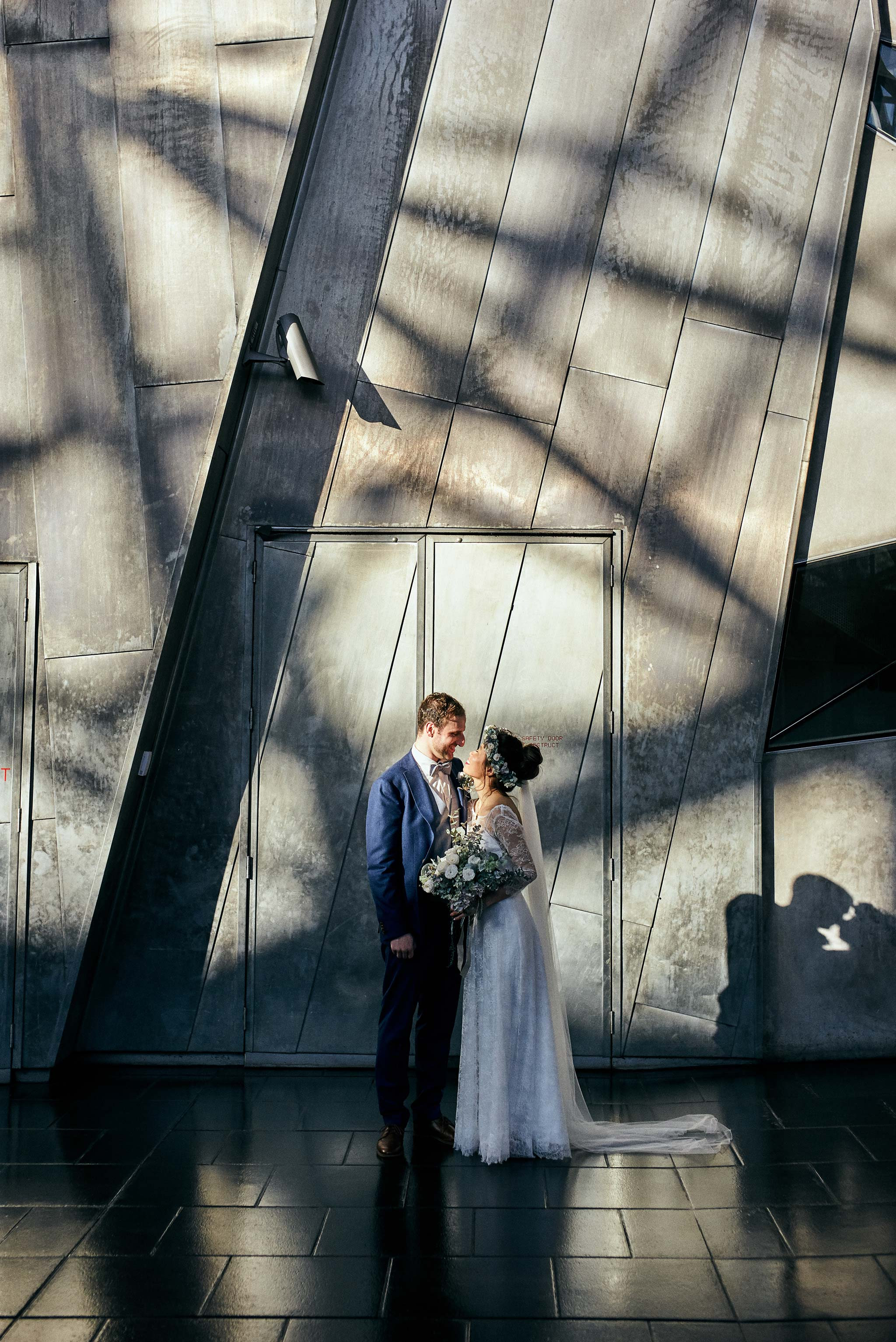 Melbourne-NGV-Triennial- Wedding-Federation-Square-portrait
