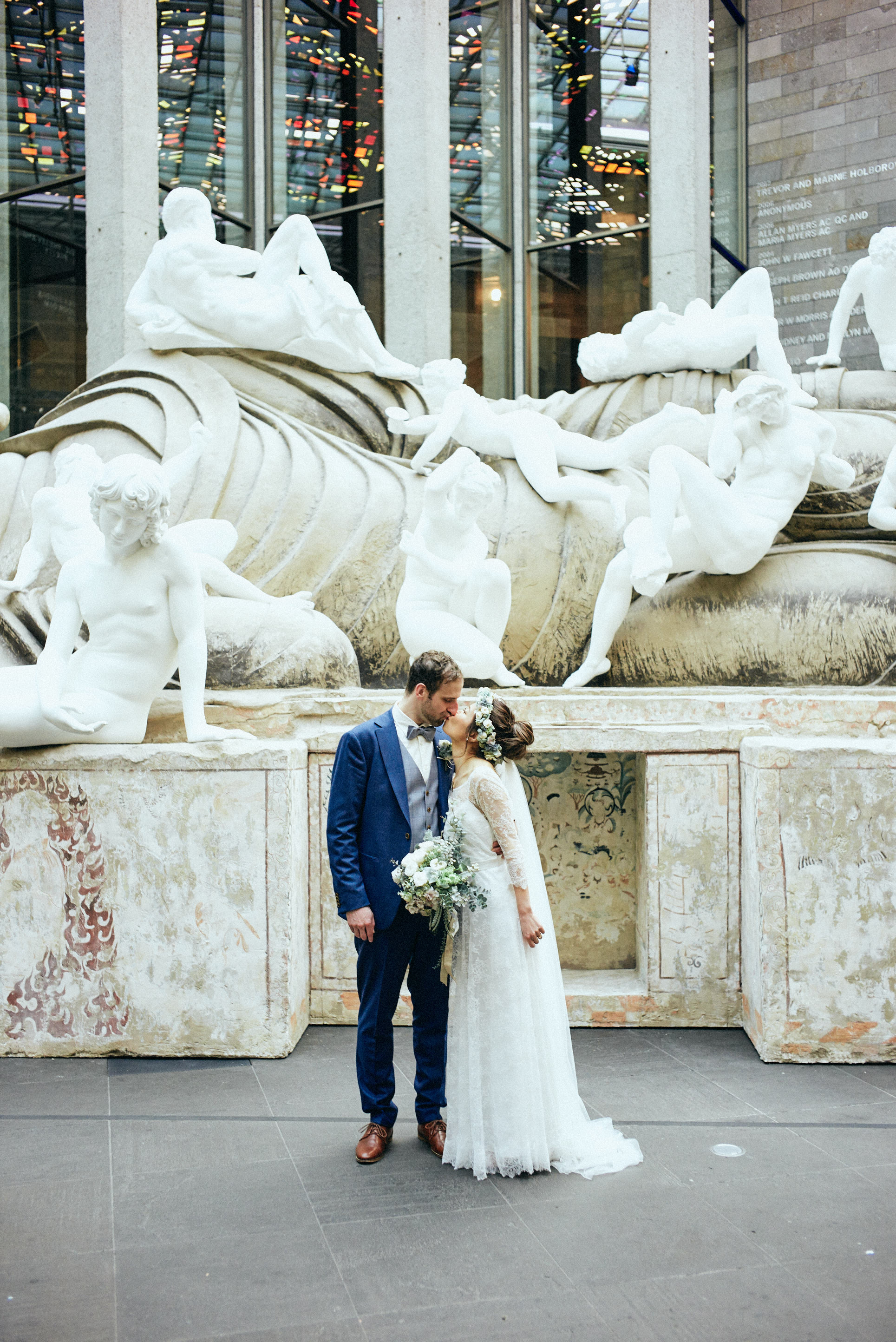 Melbourne-NGV-Triennial-Wedding-portrait